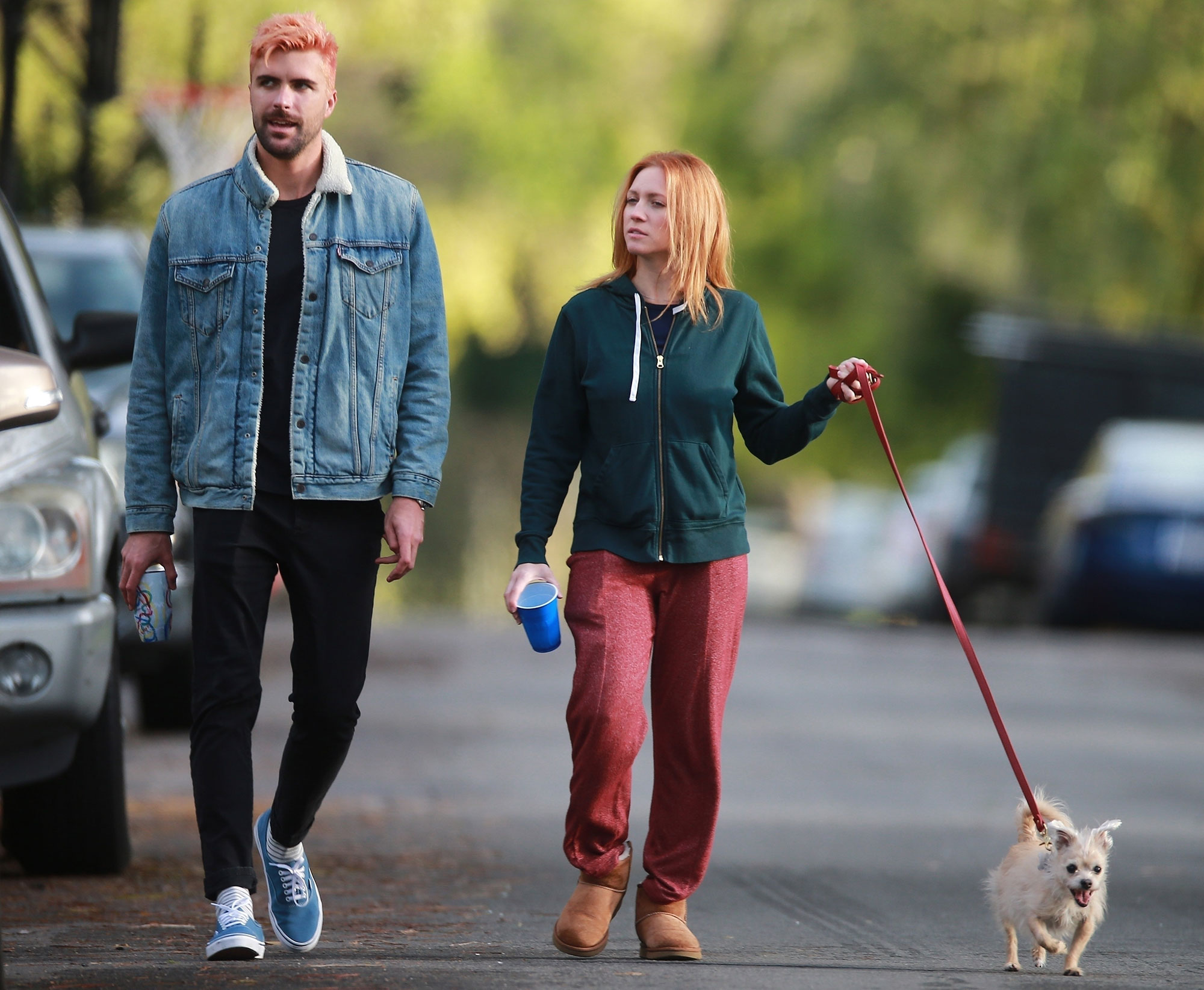 Brittany Snow and husband Tyler Stanaland