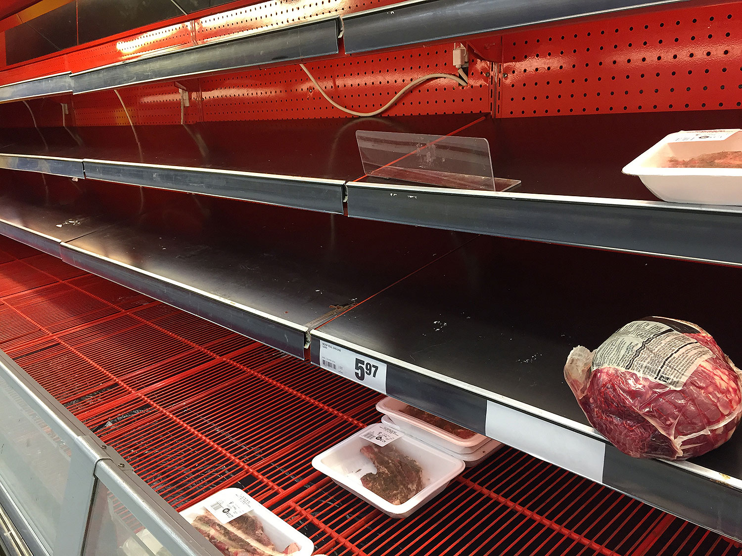 meat shortage
