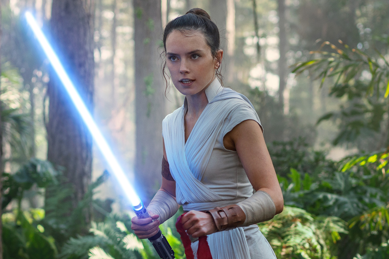 Daisy Ridley is Rey in STAR WARS: THE RISE OF SKYWALKER