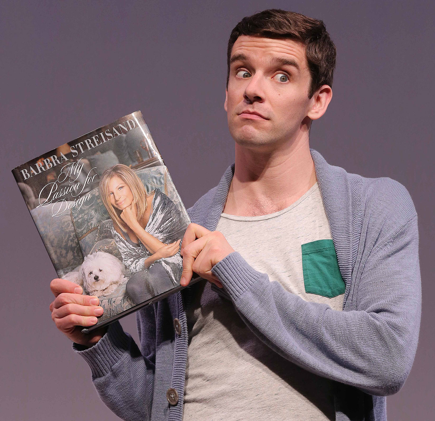 Michael Urie in Buyer and Cellar (2013)
