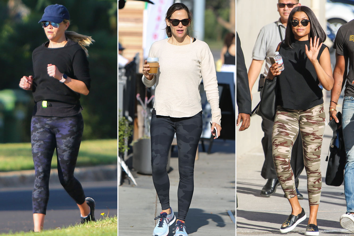 Reese Witherspoon, Jennifer garner and tarsi p henson