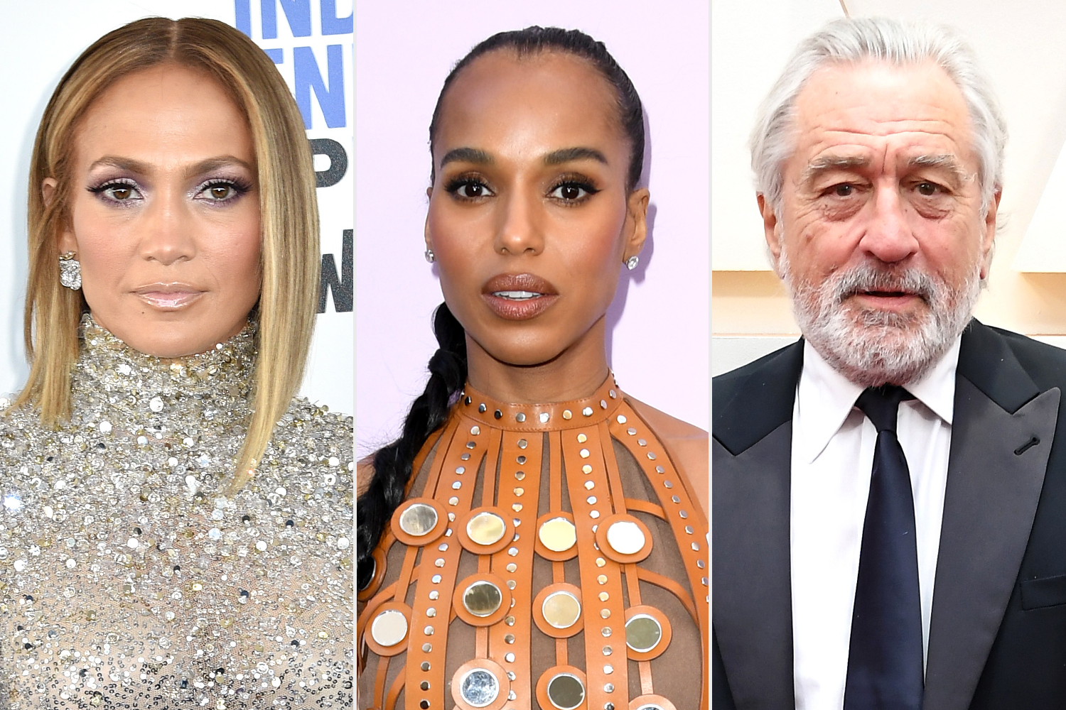Jennifer Lopez; Kerry Washington; Robert De Niro