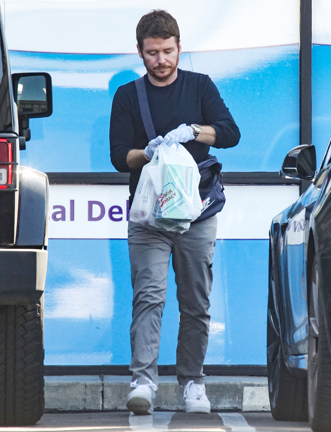 Kevin Connolly is seen in Los Angeles, California.