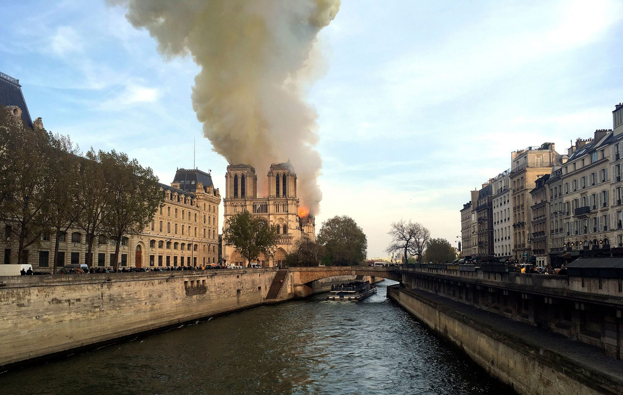 Notre-Dame Cathedral fire