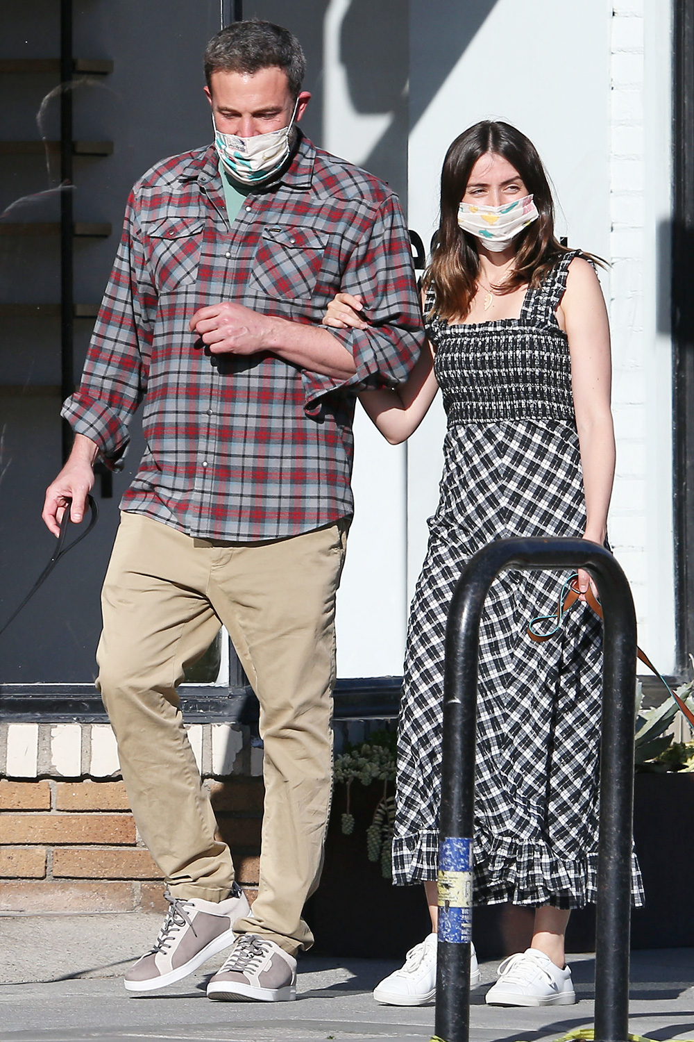 Ben Affleck and Ana de Armas out and about, Los Angeles, USA - 15 Apr 2020