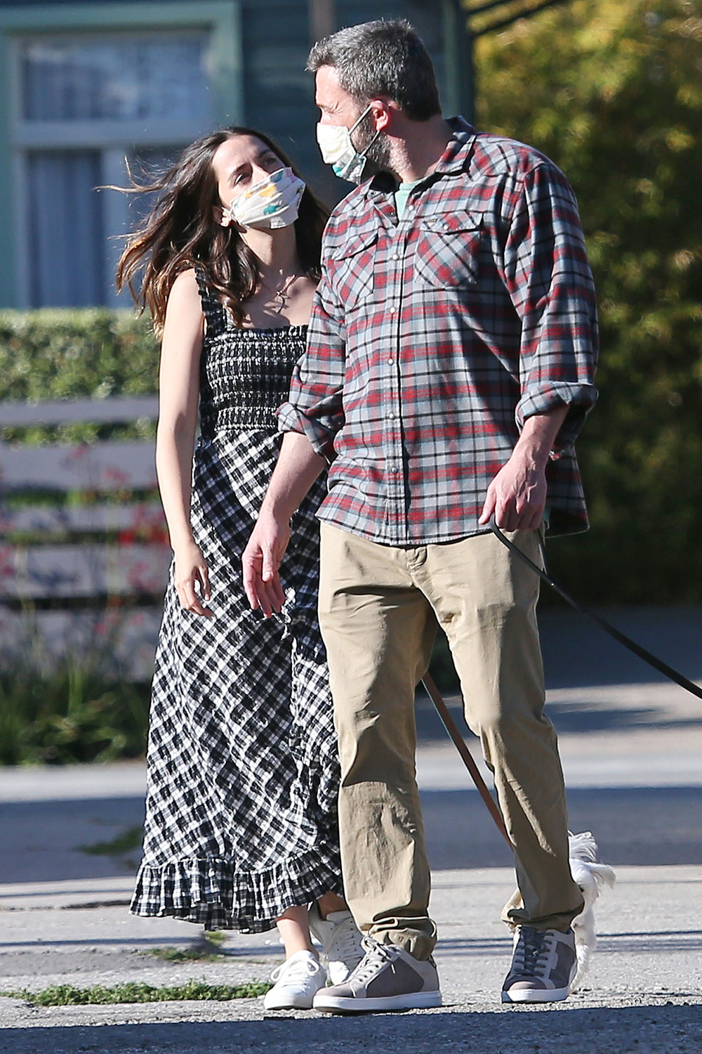Ben Affleck And Ana De Armas Out And About On Abbot Kinney Blvd In Venice Beach During Quarantine