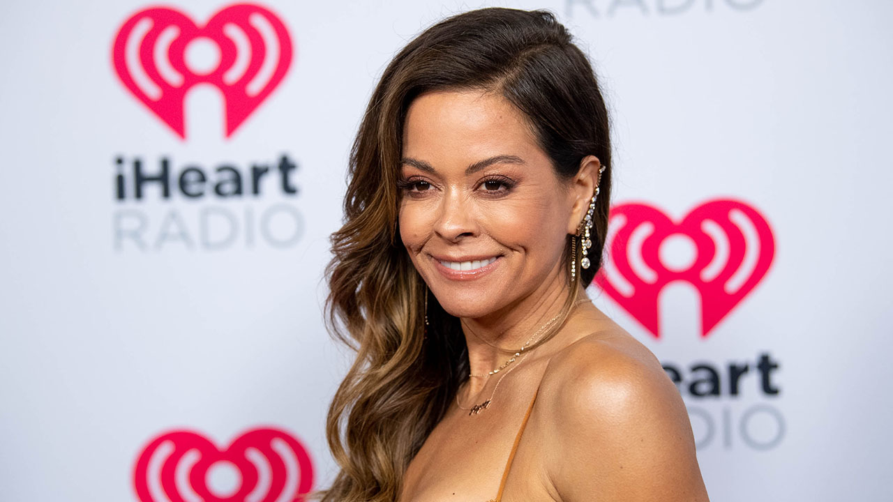 Brooke Burke Shares A 'Creative' Chair Workout You Can Do At Home