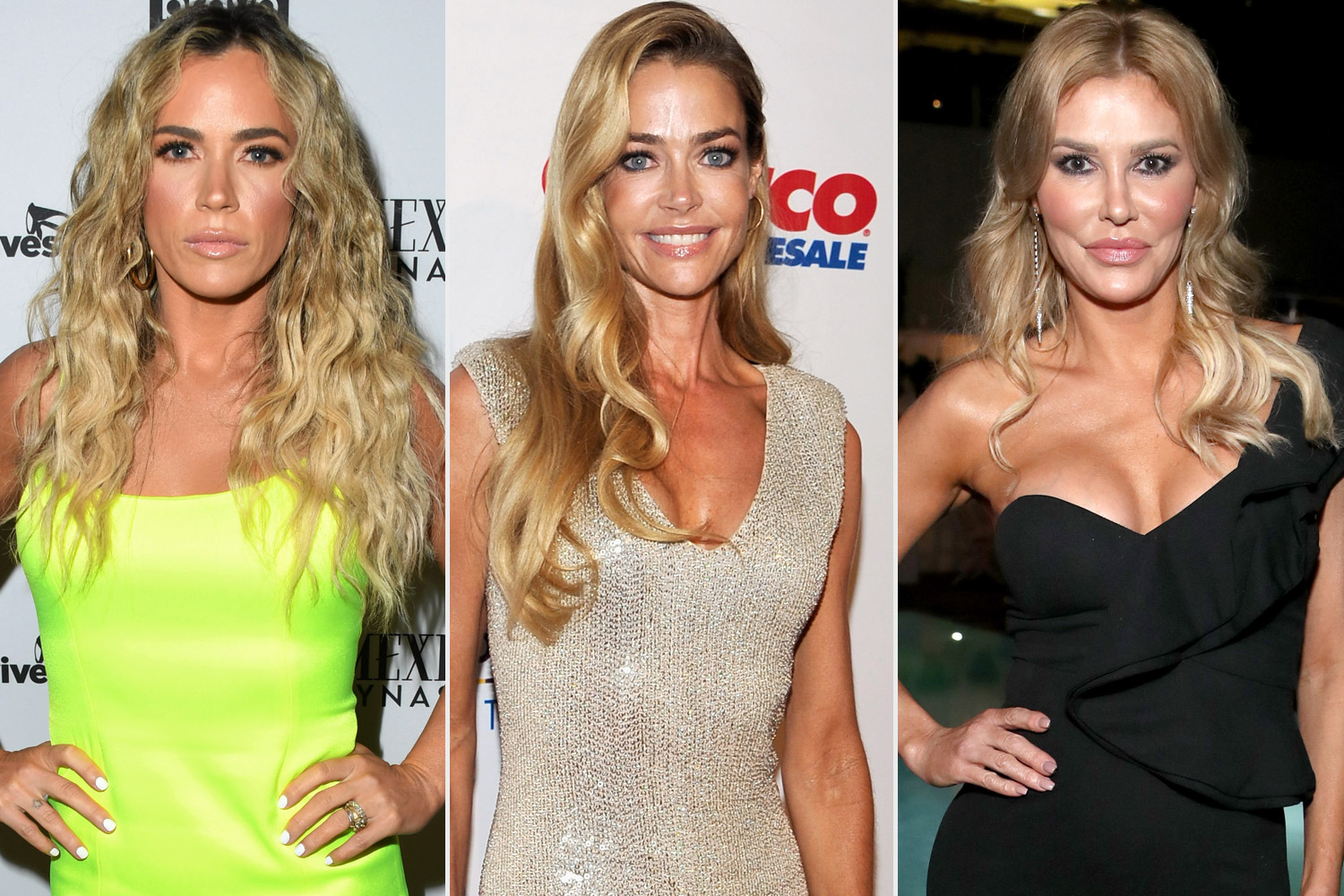 Teddi Mellencamp, Brandi Glanville, Denise Richards
