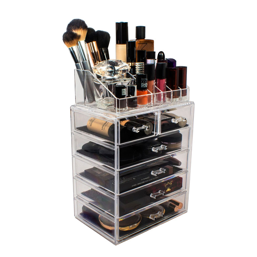 Sorbus Six-Drawer Makeup and Jewelry Organizer