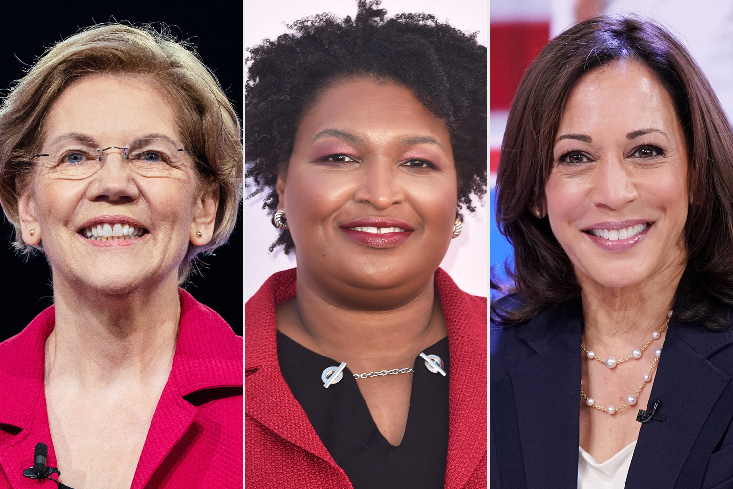 Elizabeth Warren, Stacey Abrams, and Kamala Harris Say They Would Be Joe Biden's Vice President