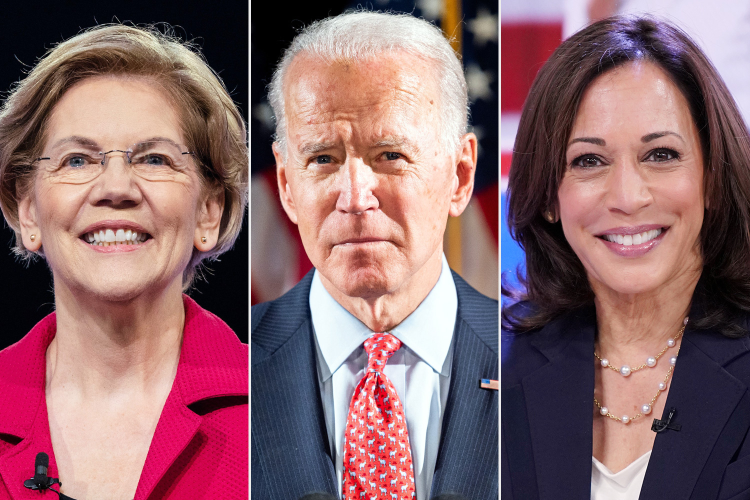 Elizabeth Warren and Kamala Harris Say They're Ready to Be Joe Biden's Vice President Pick