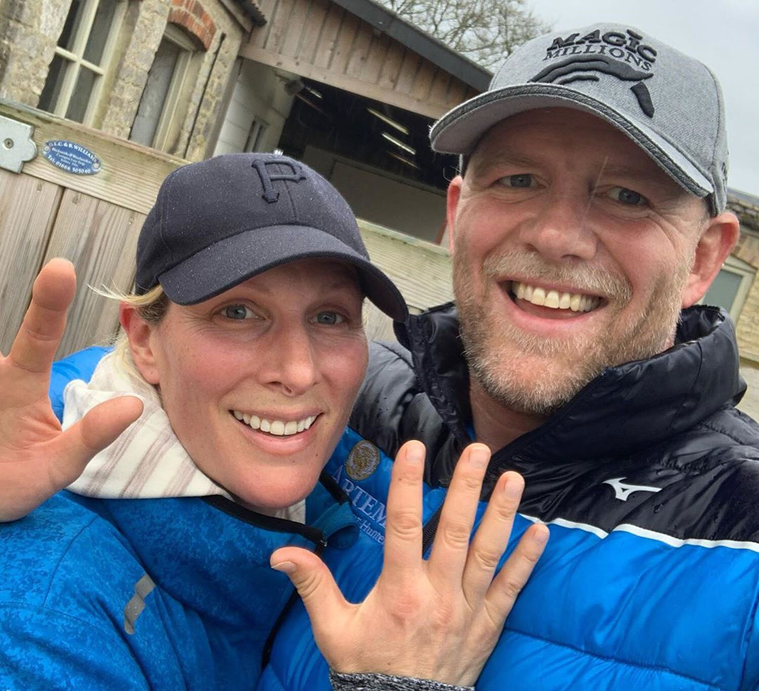 Zara Tindall Takes Rapid COVID-19 Test for Sports Campaign | PEOPLE.com