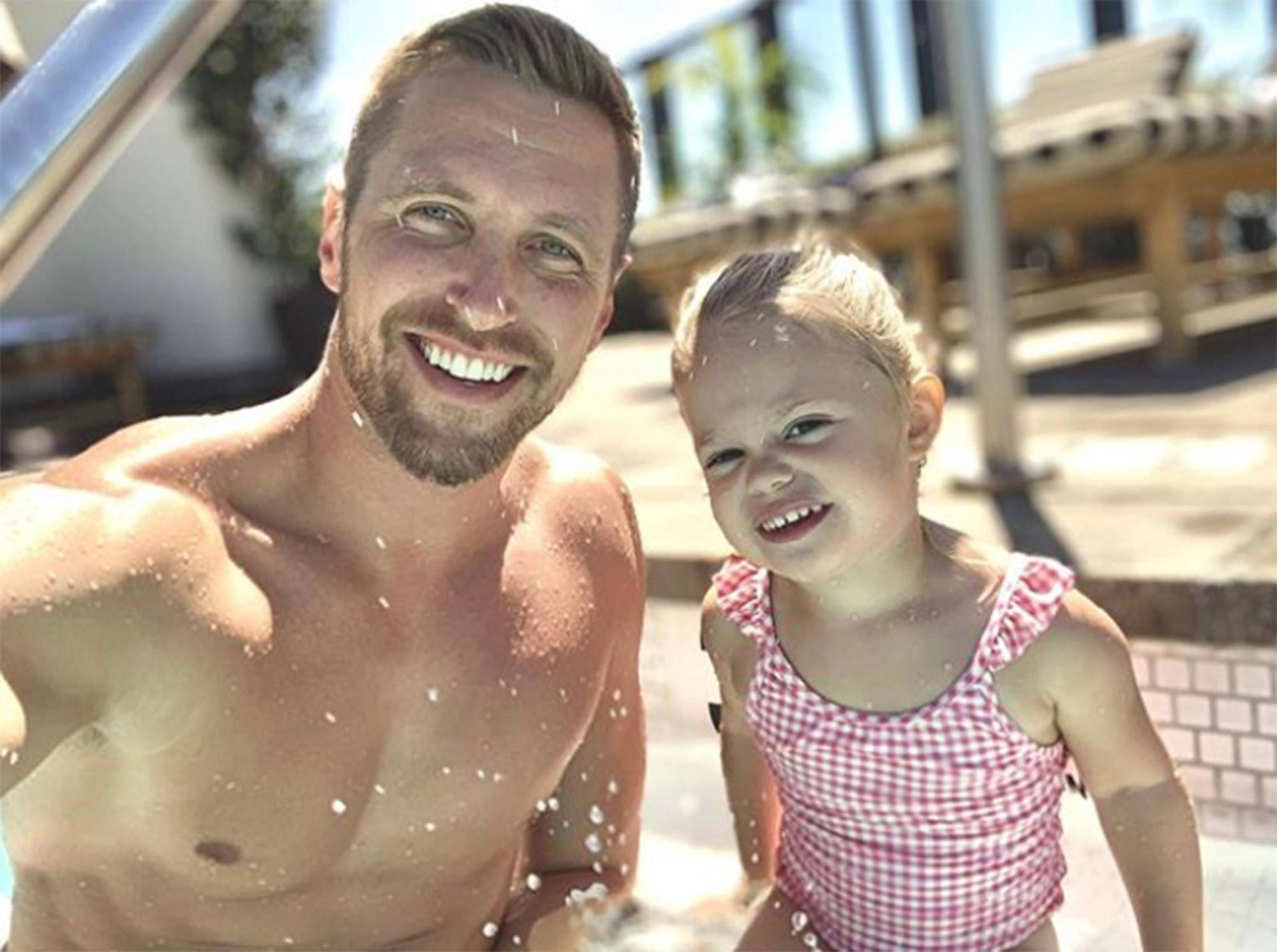 Gage Edward and daughter