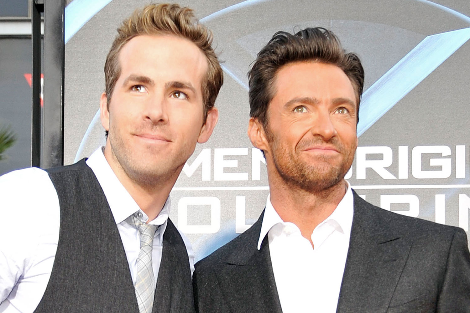 Ryan Reynolds and Hugh Jackman