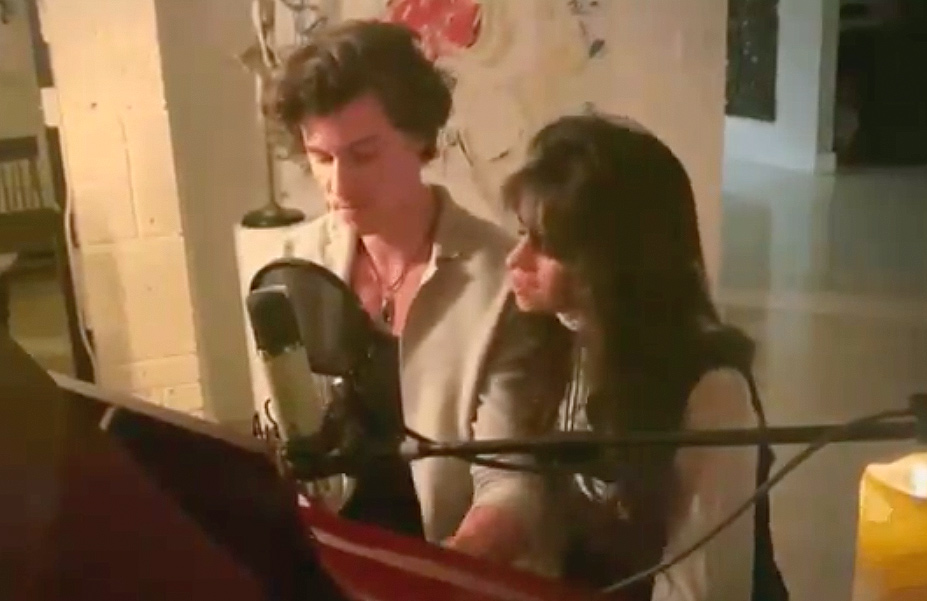 Sean Mendes and Camila Cabello