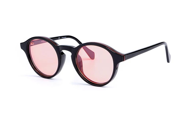 """A/J Jackson, the lead singer ofSaint Motel, just launched a customizable sunglass label that makes it easier than ever to change up your style. AVIEW allows customers to choose from a variety of Andy Warhol-inspired frames (clear, brown, tortoise or black) and thin, interchangeable lenses (yellow, rose, blue, black, brown, and green). The first drop also includes a chic leather carrying case to safely store the slip-in lenses. So whether you want to transition your glasses to sunglasses or switch your sunglass color without purchasing a new pair of frames, this new brand has got you covered. """"You will never need a separate pair of glasses again,"""" a press release states.                             Buy It! AVIEW Círculo in Black, $99; aview.com"""