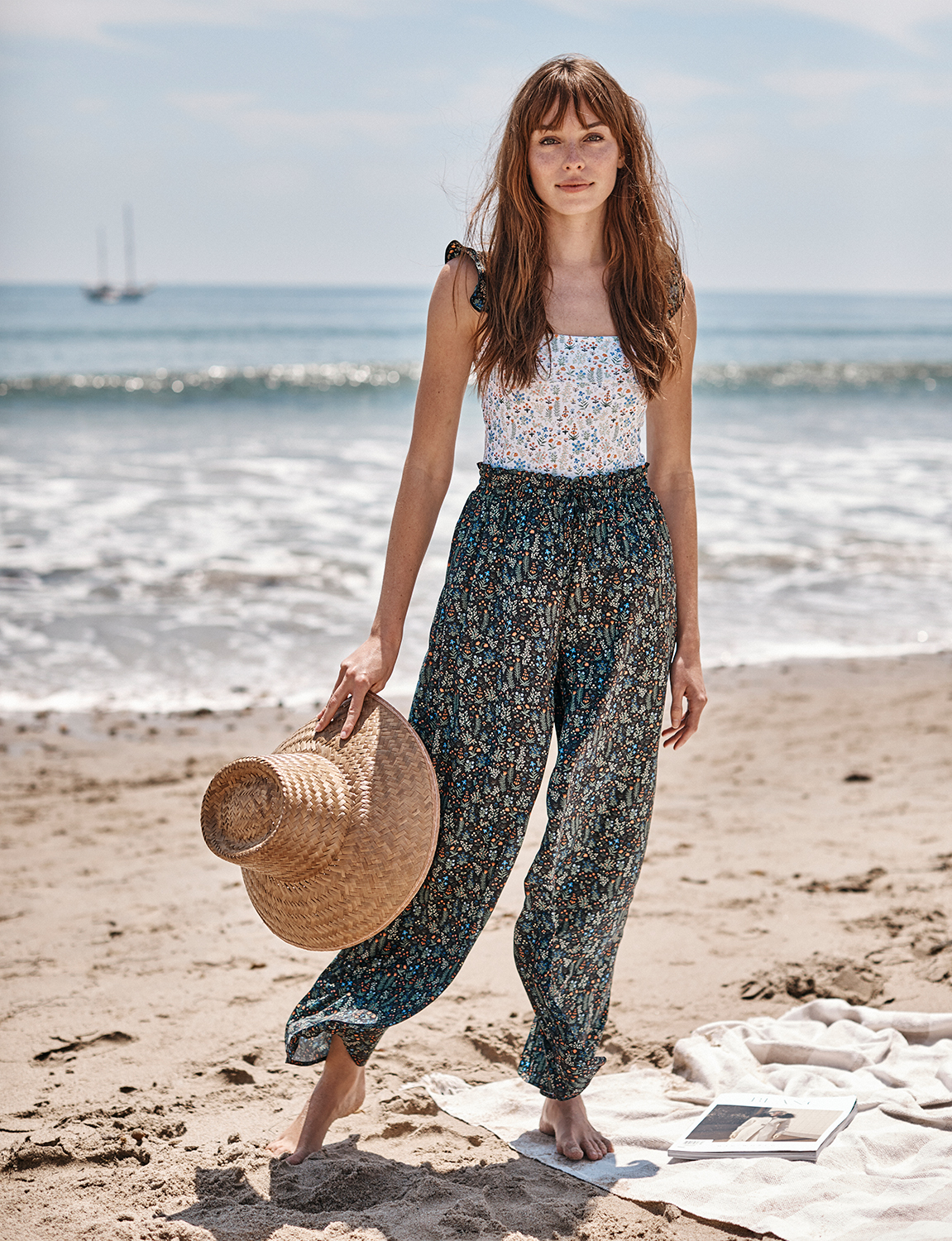 Buy It! The Palazzo Pant With Ties, $95; summersalt.com