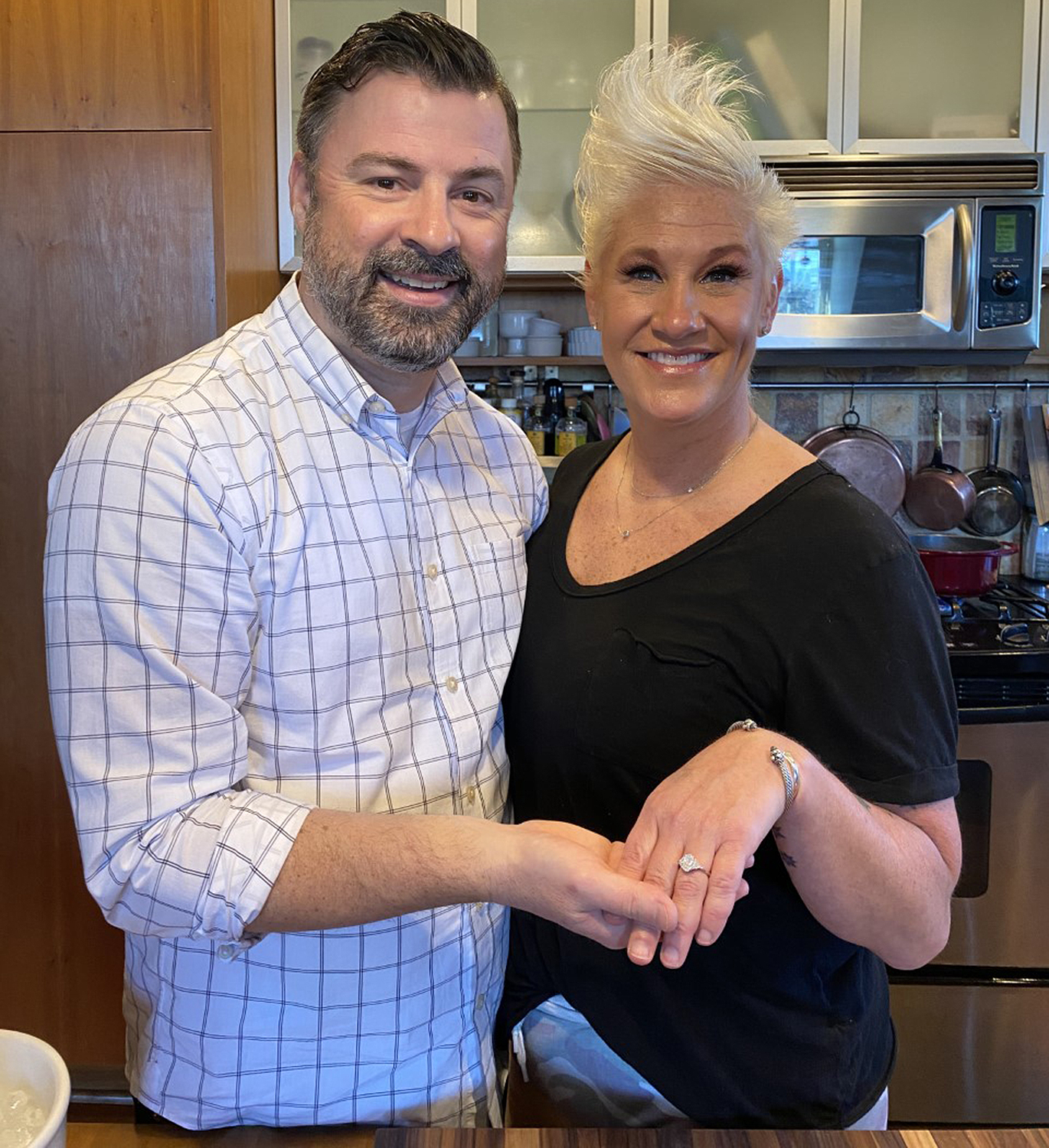 anne burrell engaged