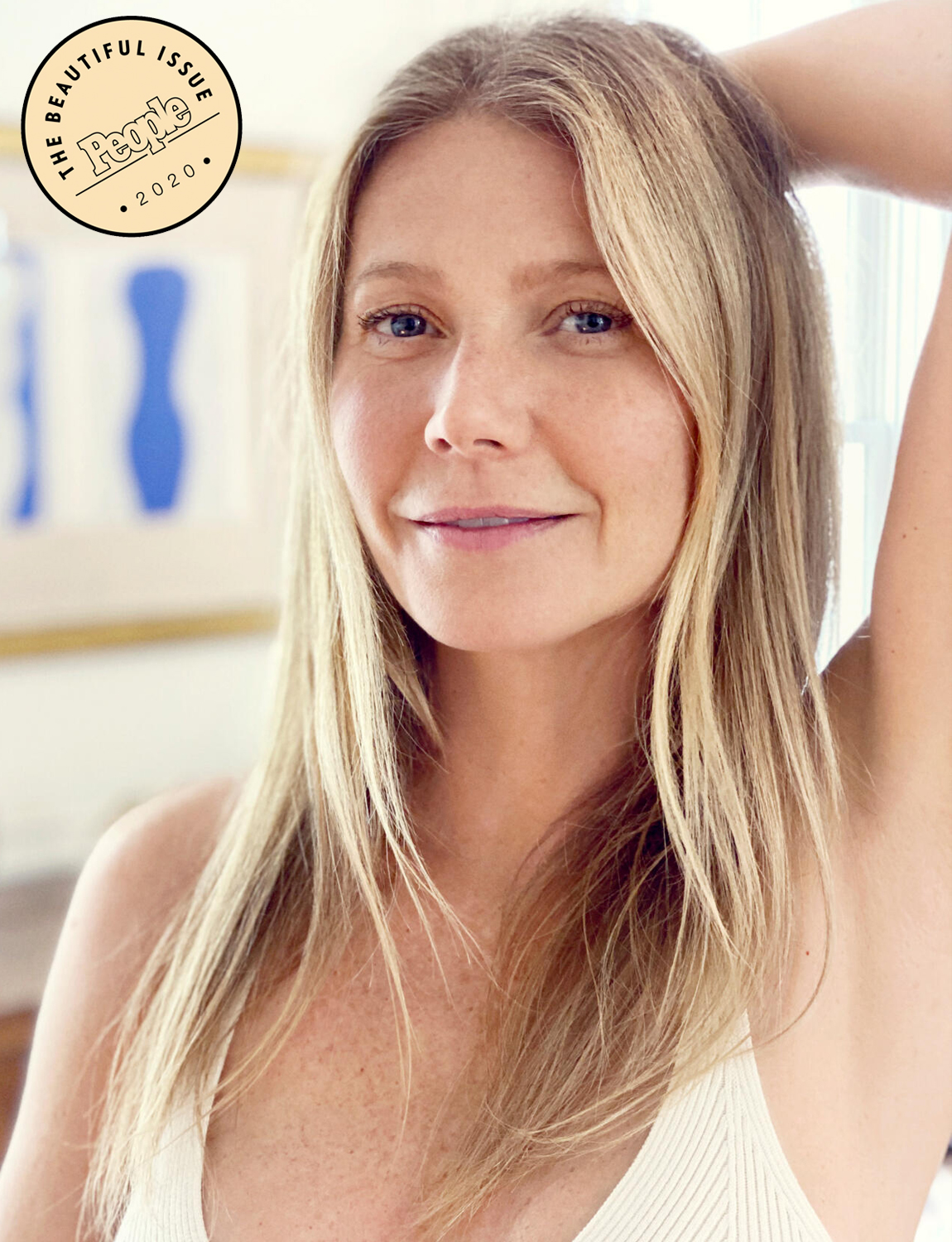 Gwyneth Paltrow Goes Makeup Free In
