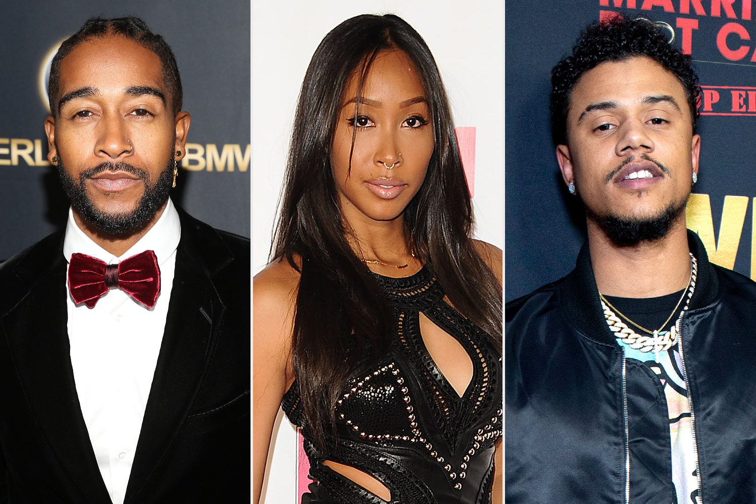 Omarion, Apryl-Jones and Lil-Fizz