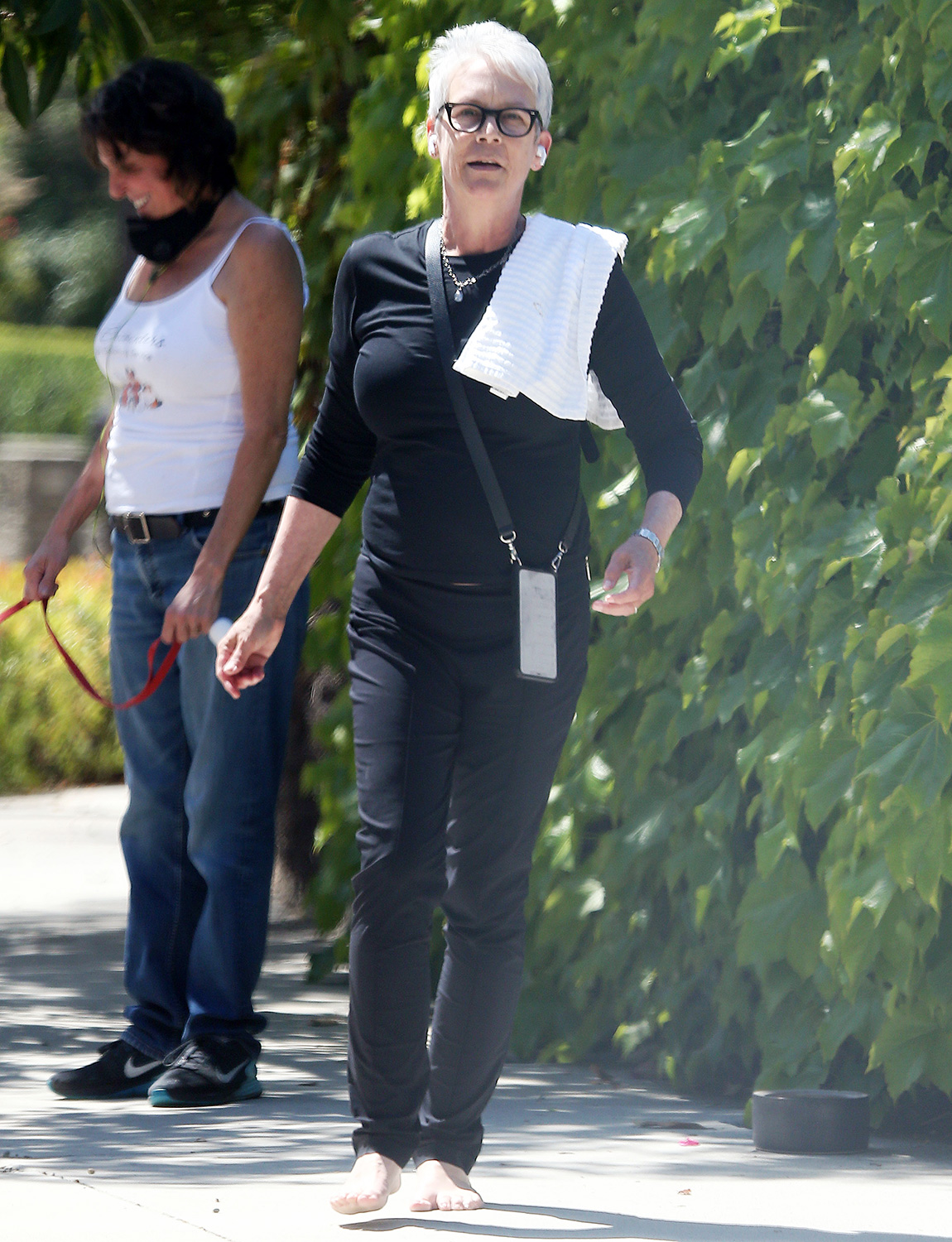 Jamie Lee Curtis out and about, Los Angeles