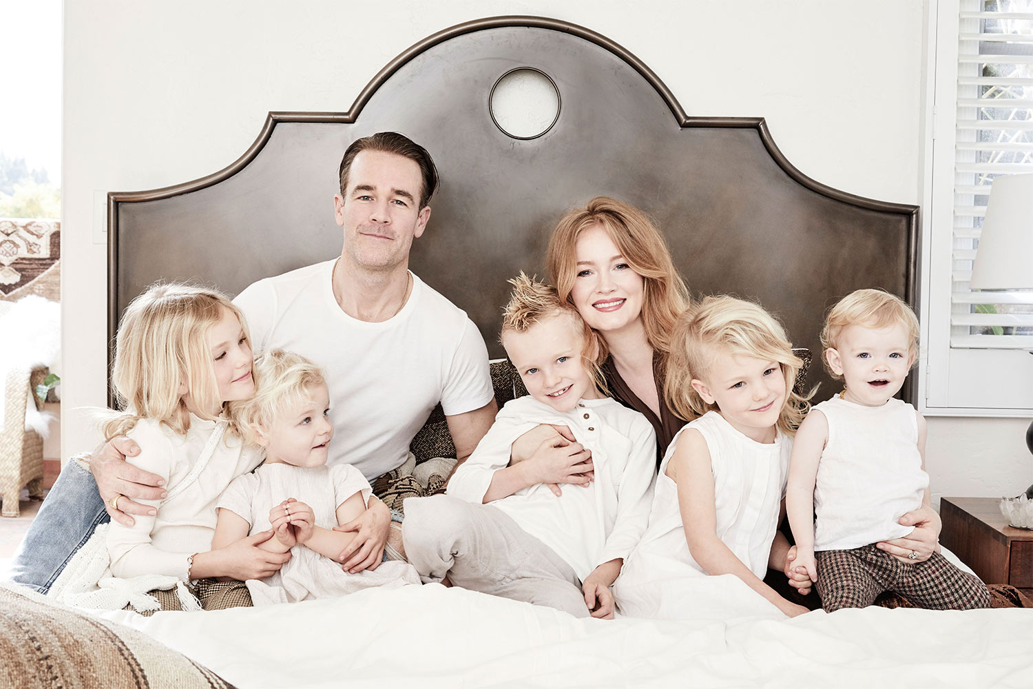 James Van Der Beek home