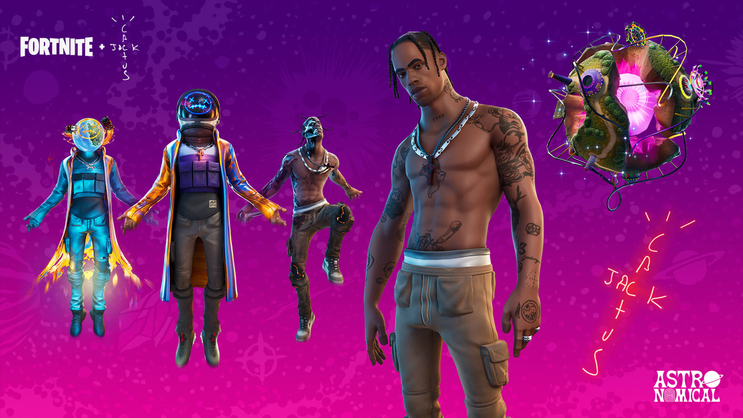 Play some Fortnite and listen to a new track from Travis Scott
