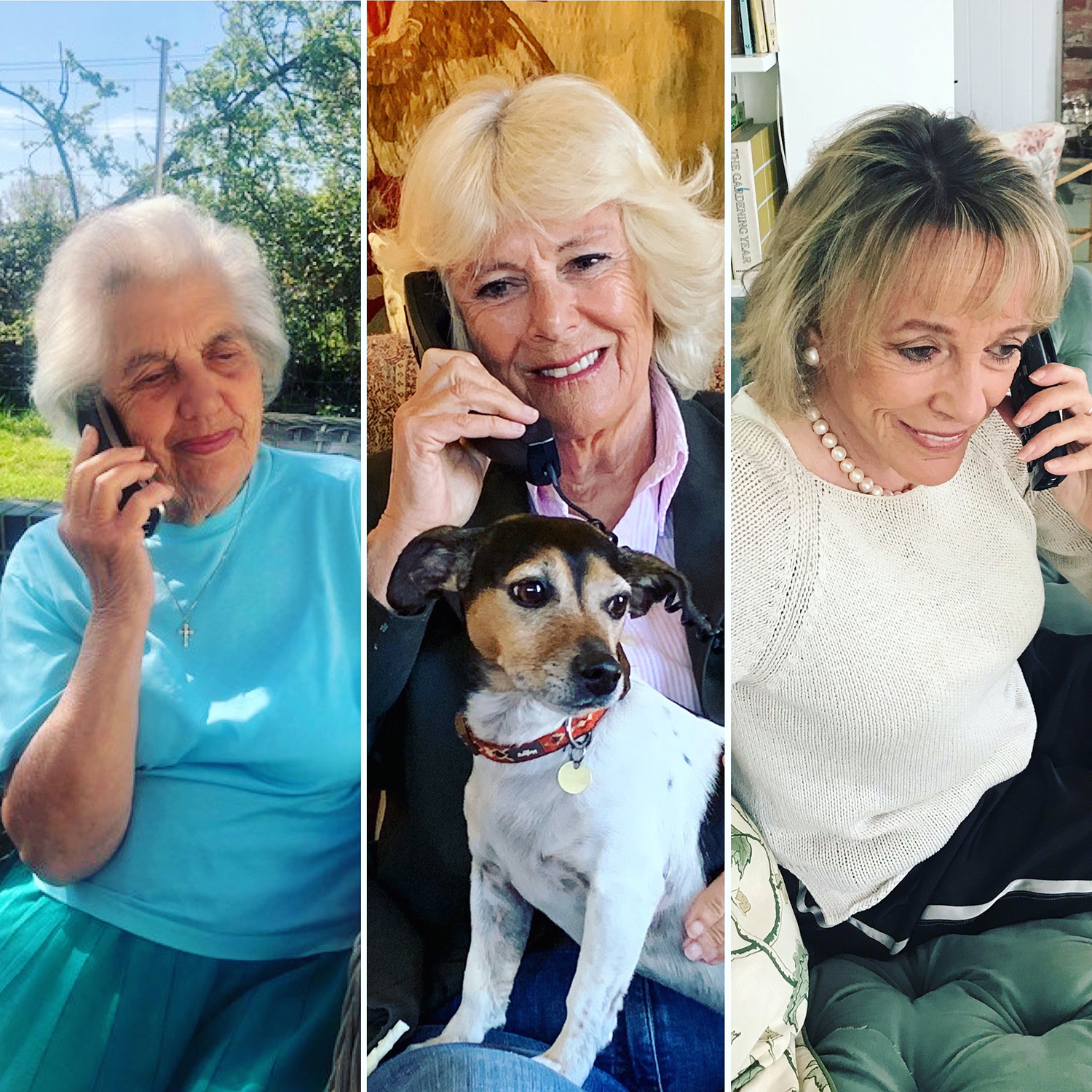 Betty, Camilla and Dame Esther