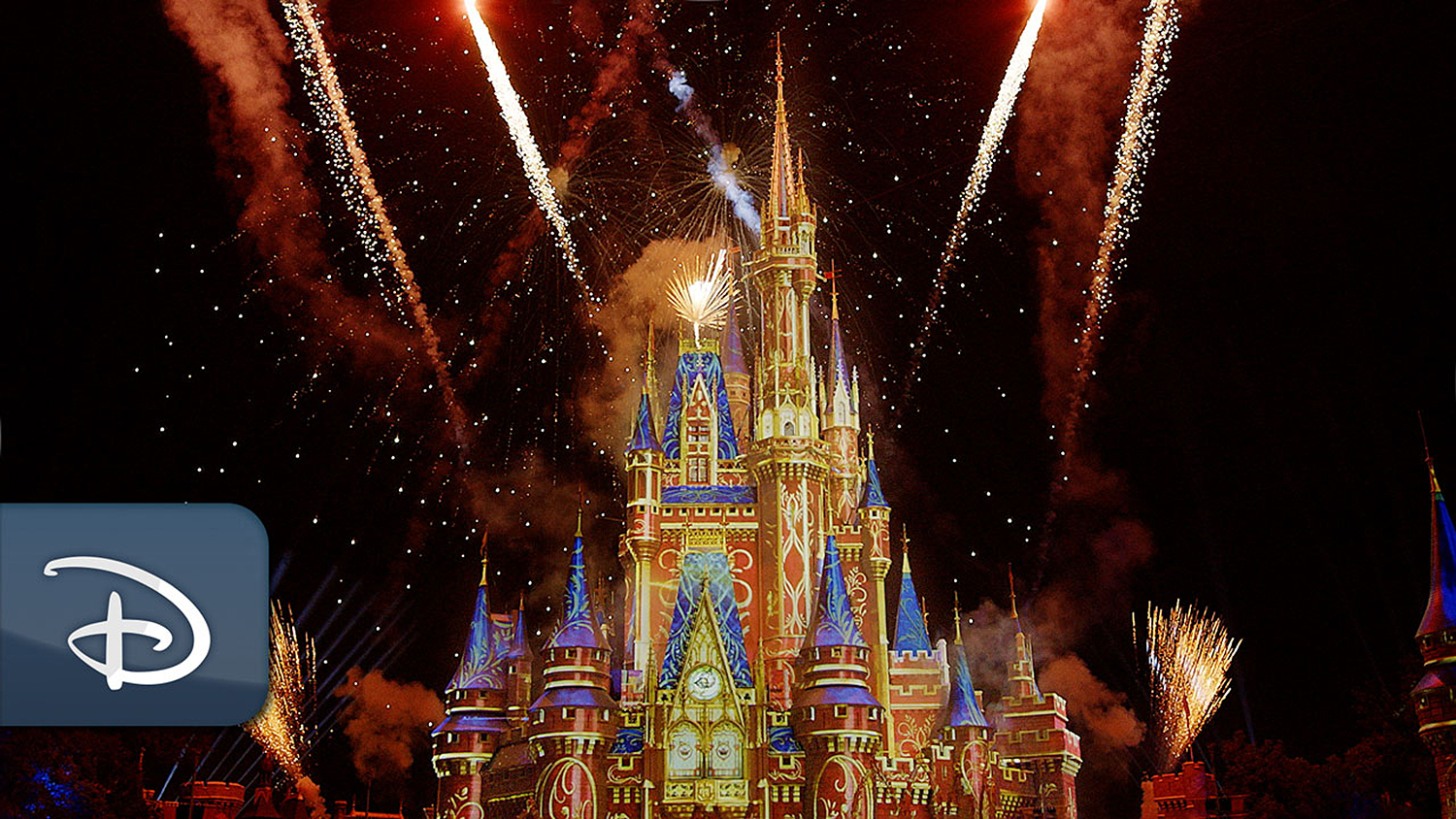 Disney fireworks streaming