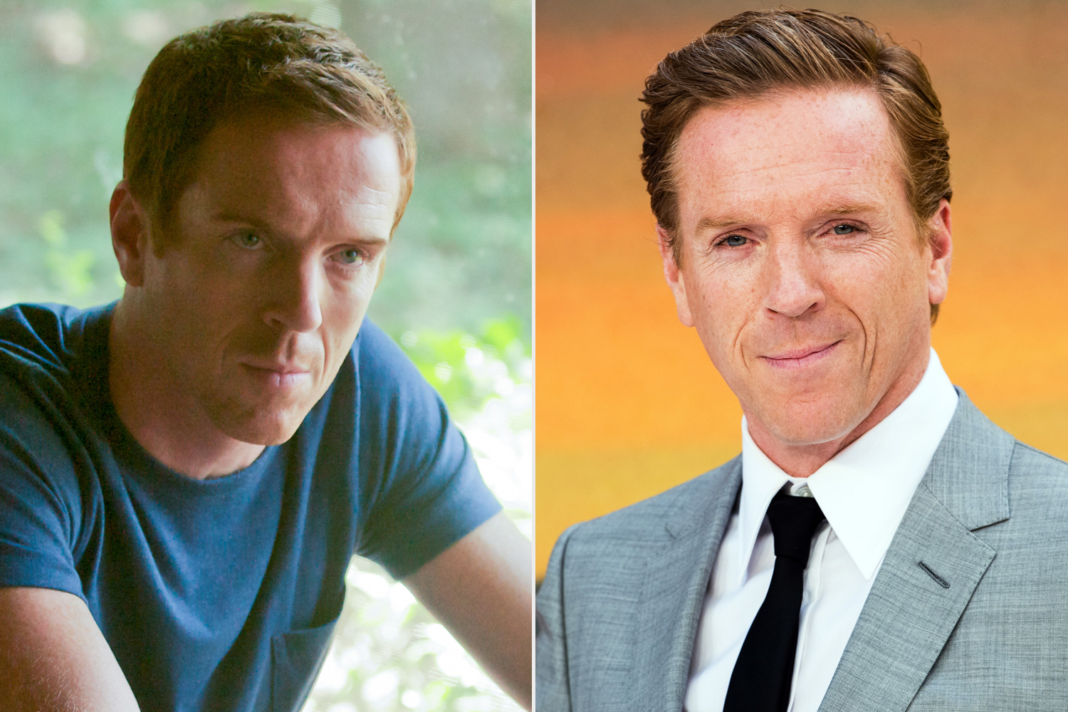 Homeland - Before and After Damian Lewis