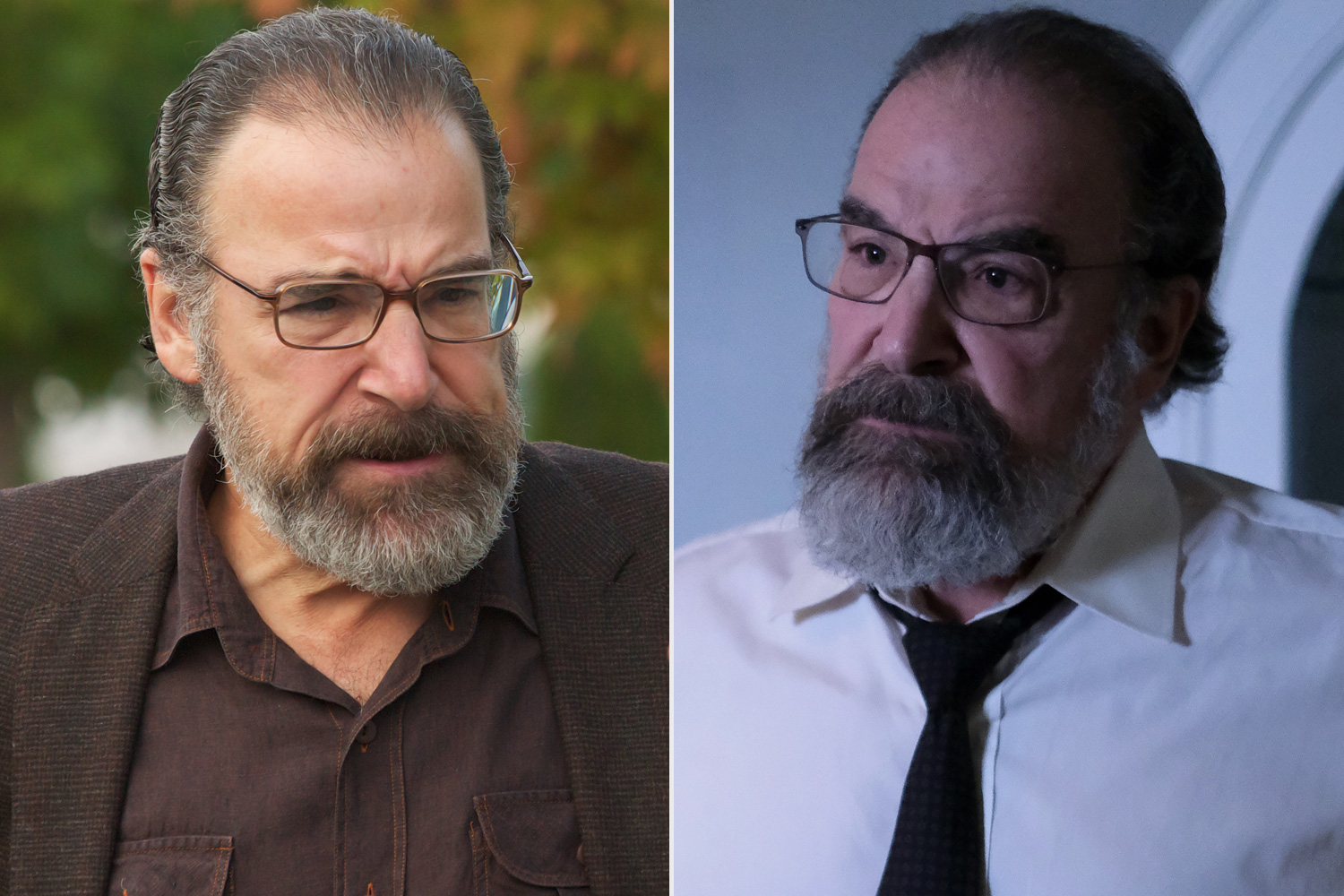 Homeland - Before and After Mandy Patinkin