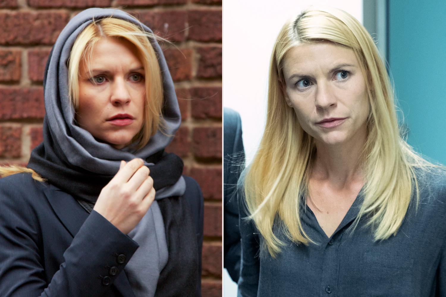 Homeland - Before and After Claire Danes