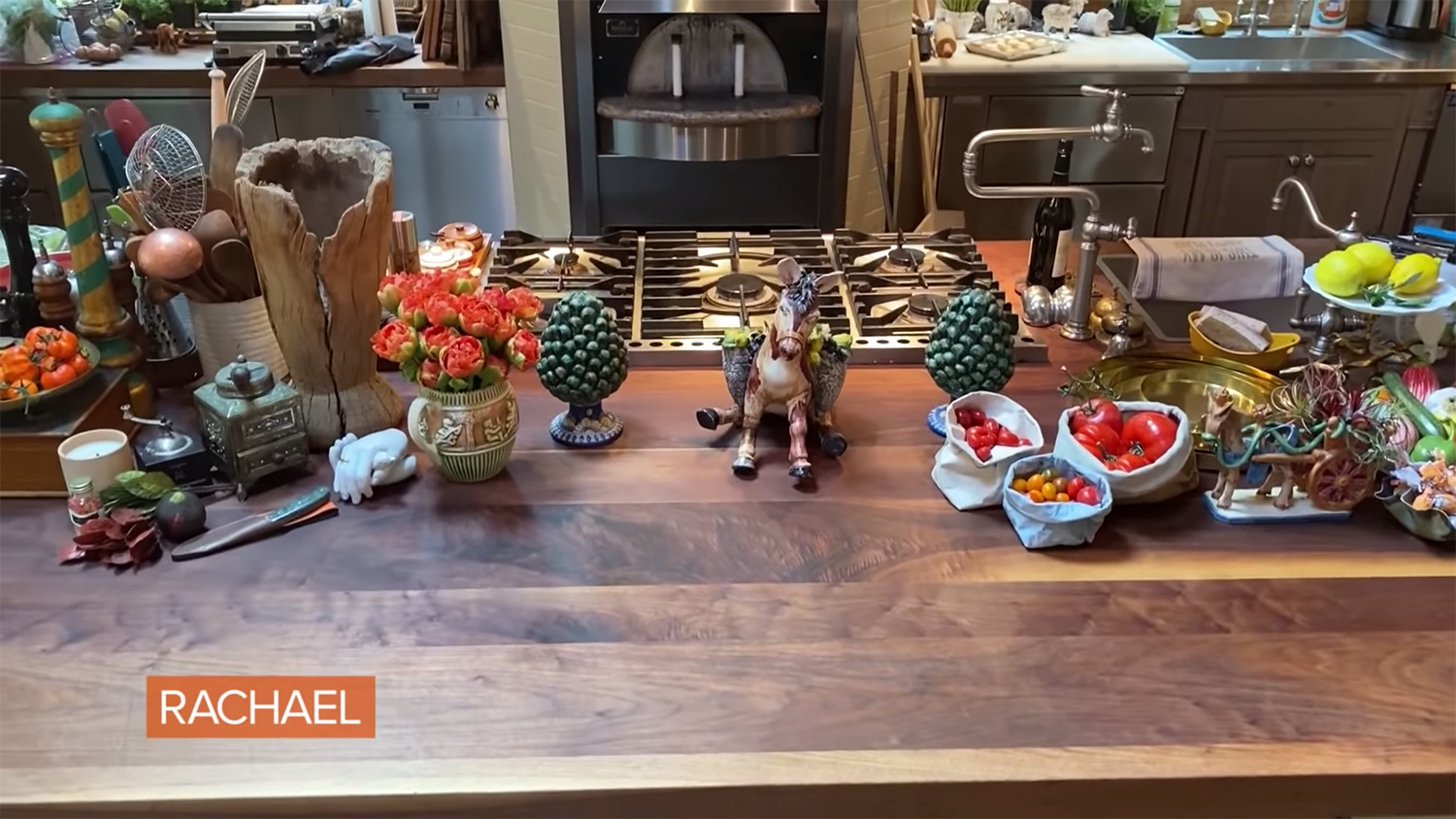 A Closer Look At Rachael's Home Kitchen AND Pantry In Upstate New York
