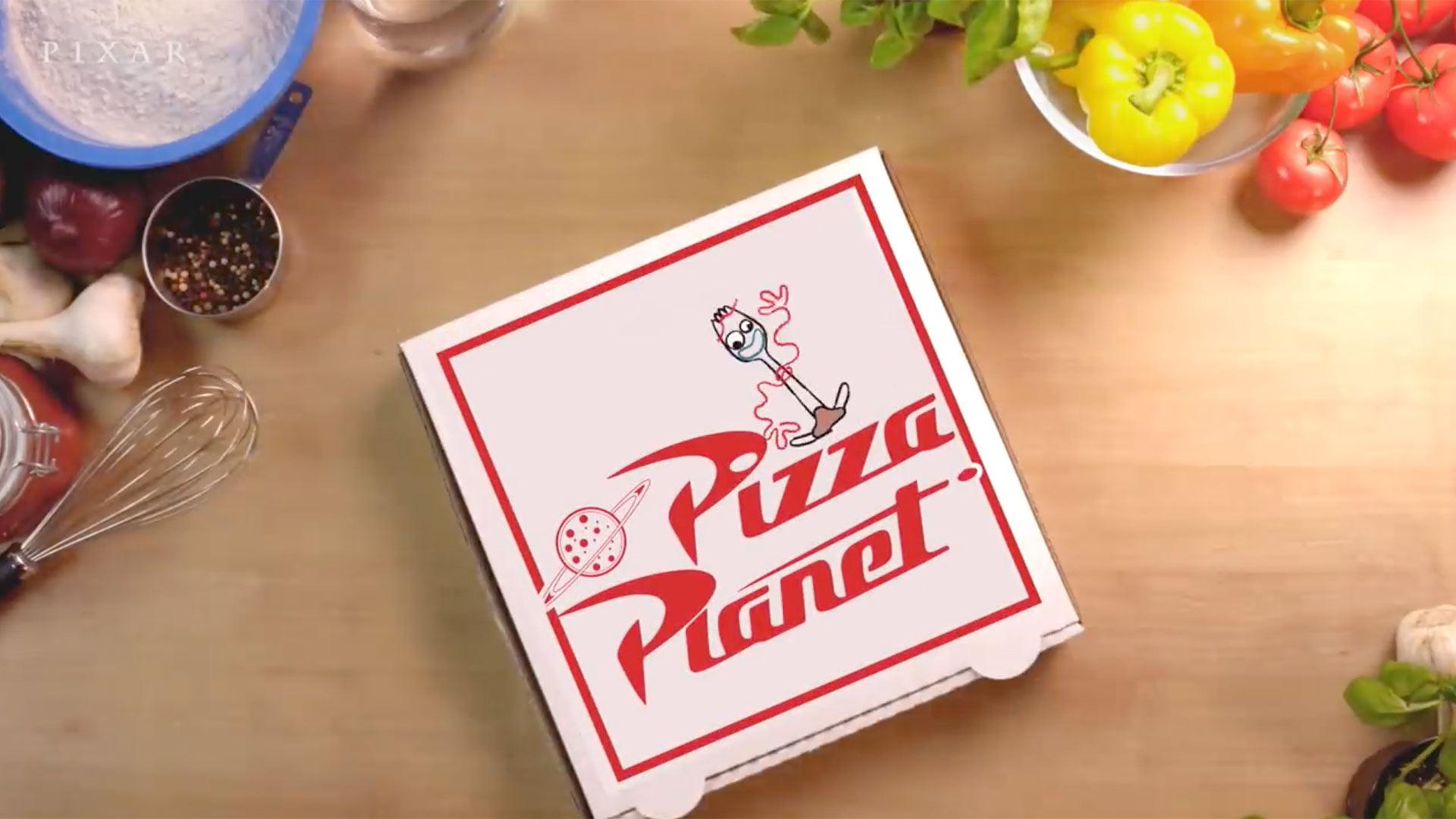 Pixar pizza