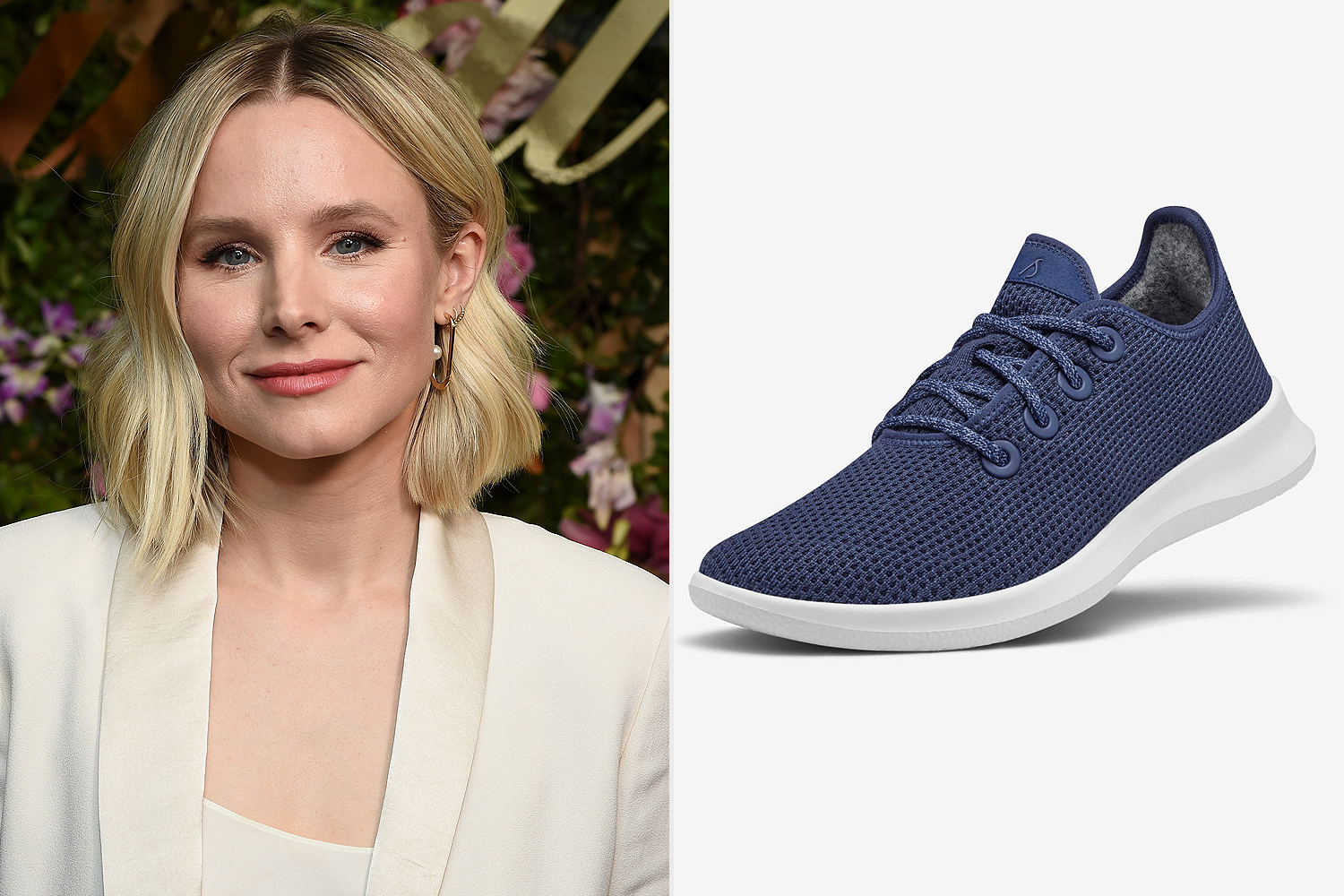 Kristen Bell, Women's Tree Runners Kauri marine blue
