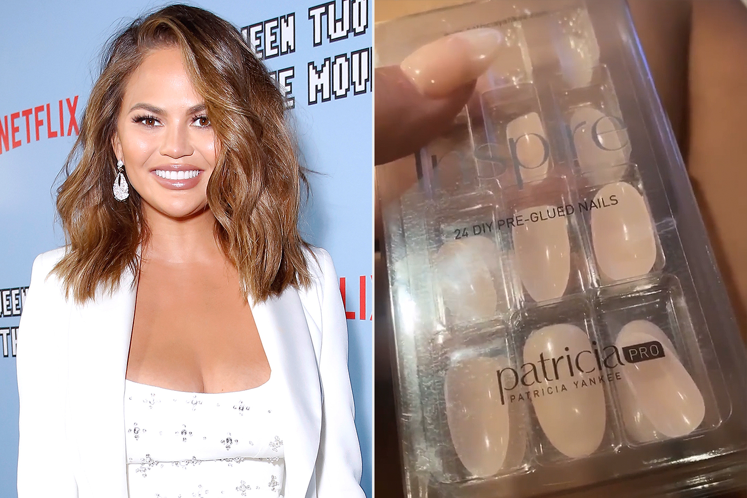 Chrissy Teigen nails