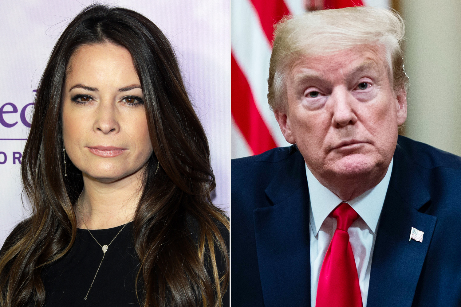 Holly Marie Combs Donald Trump