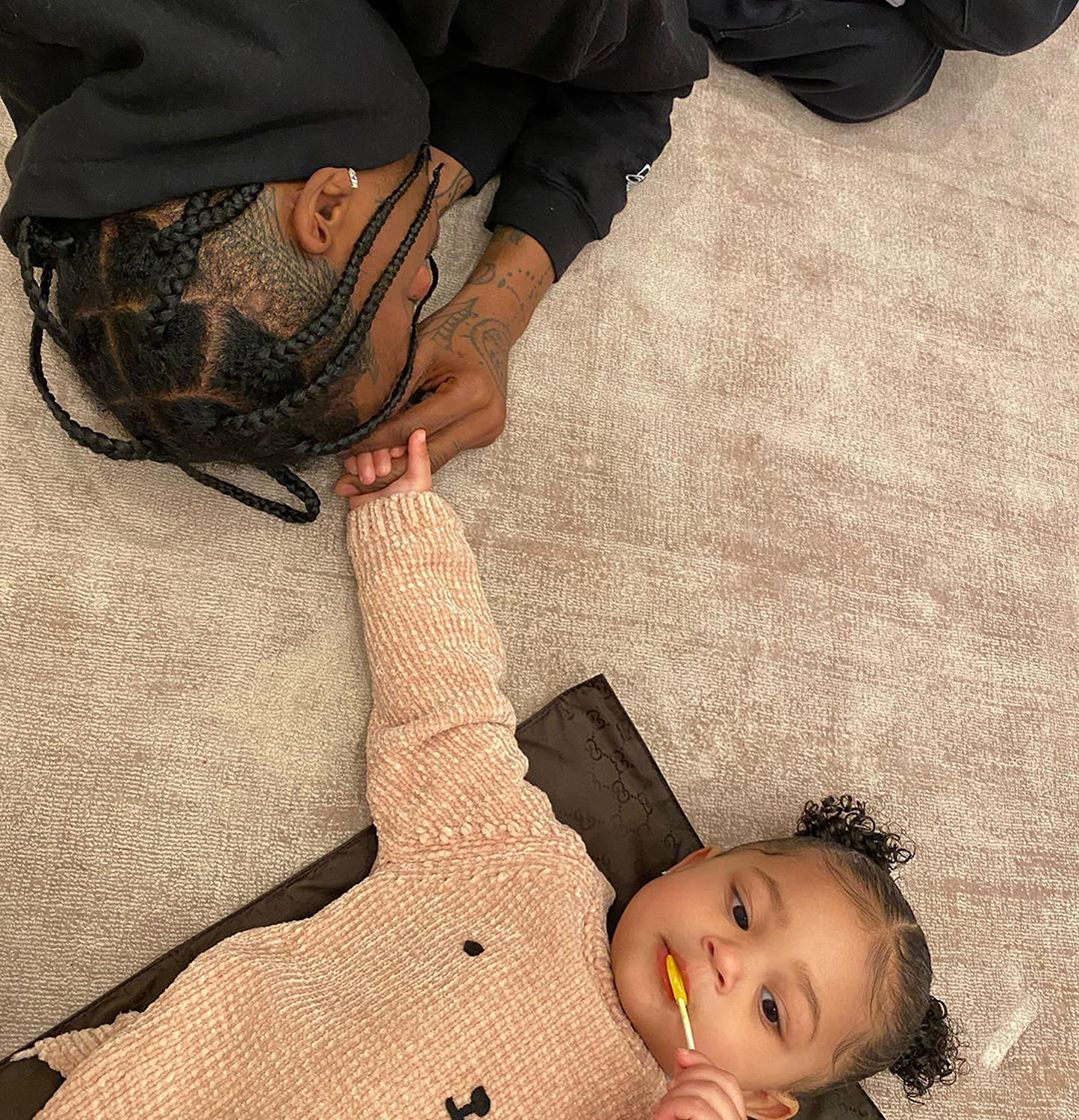 Travis Scott, Stormi Webster