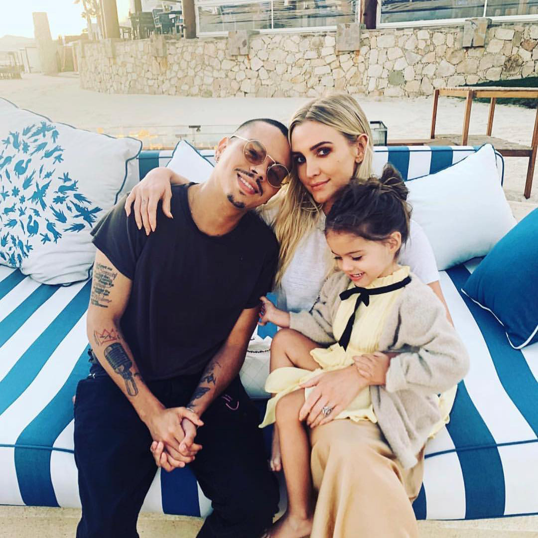 Ashlee Simpson Ross and Evan Ross Family Photos