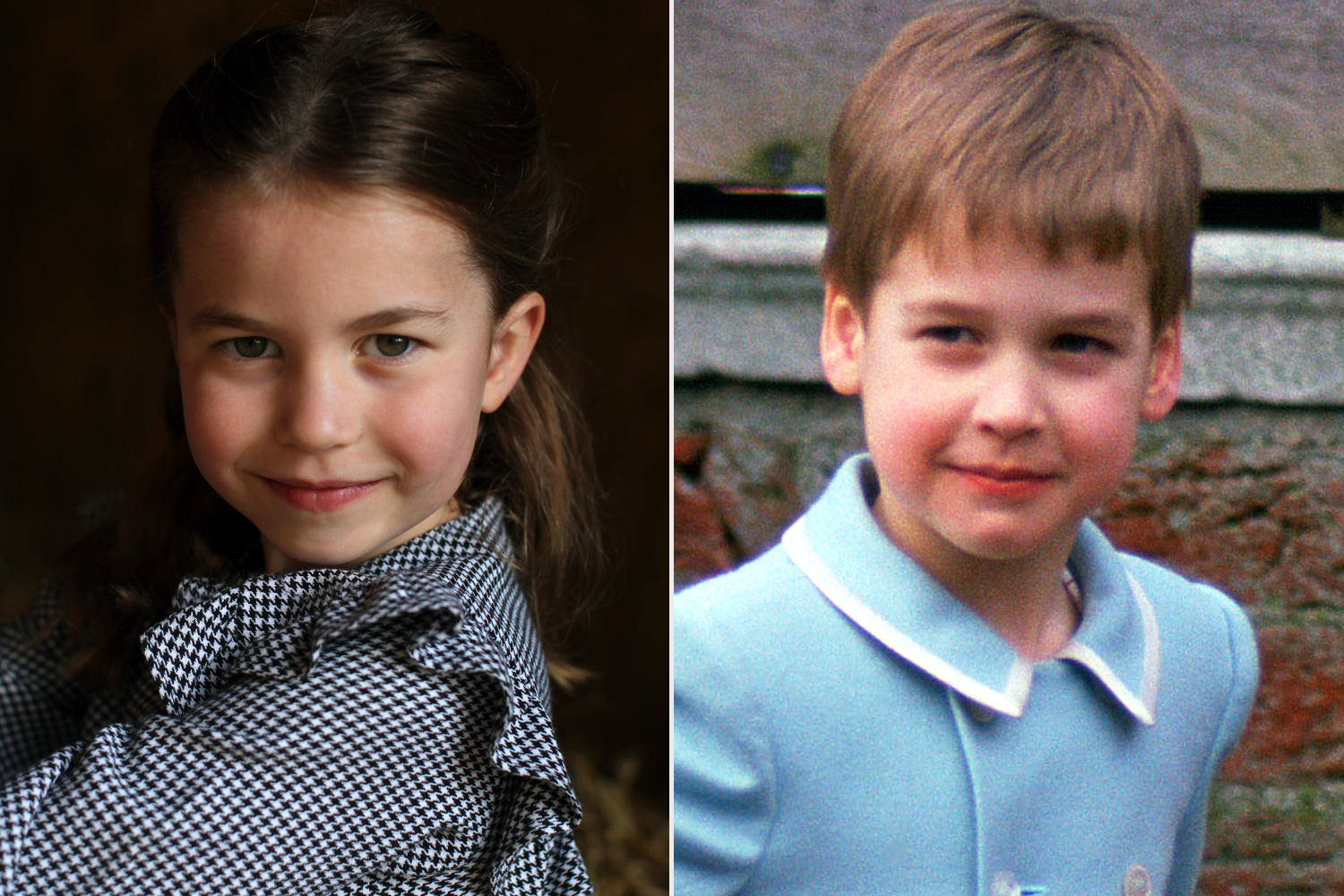 Princess Charlotte Is a Complete Daddy's Girl in New Birthday Portrait