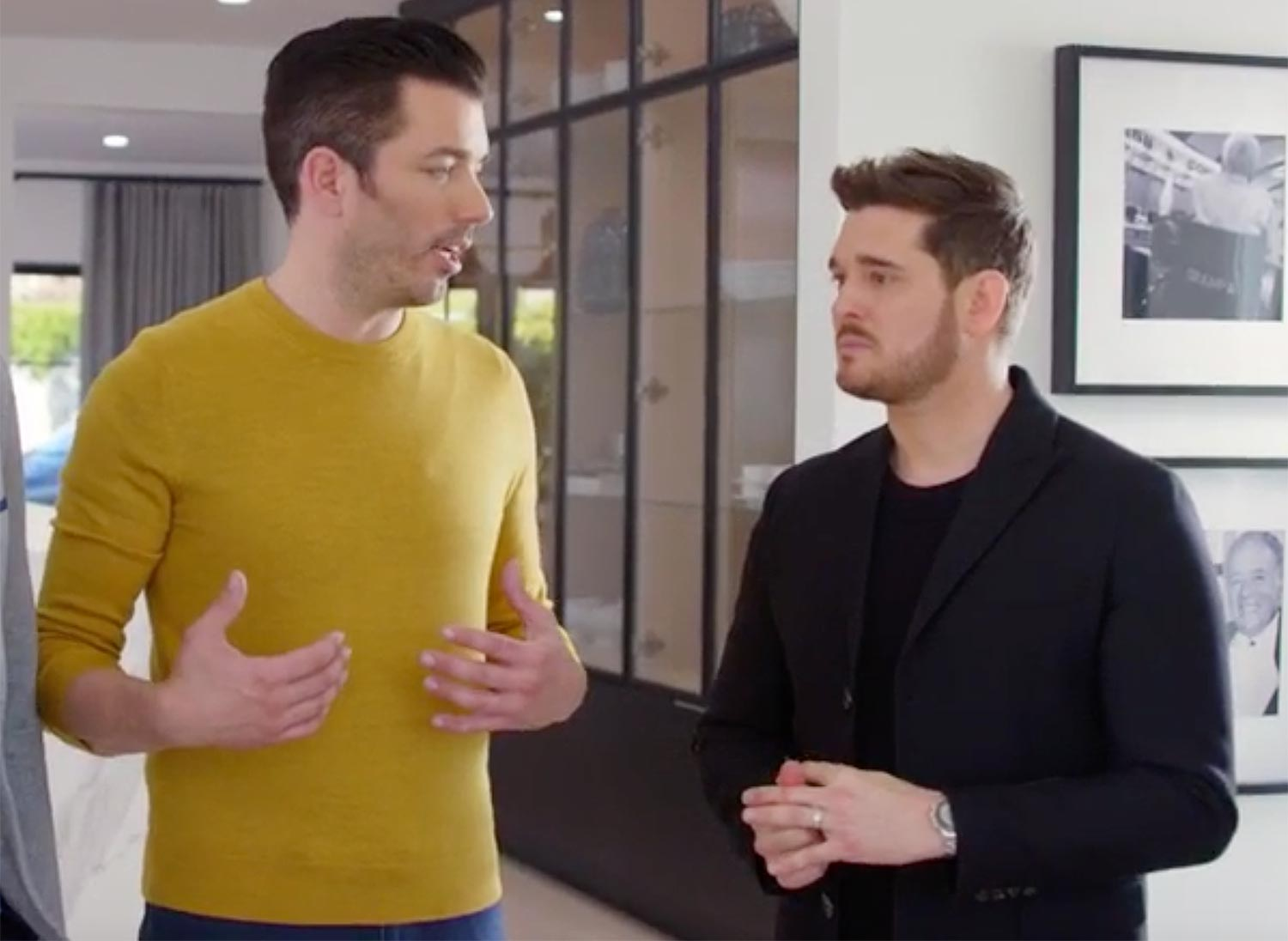 Michael Buble on Celebrity IOU