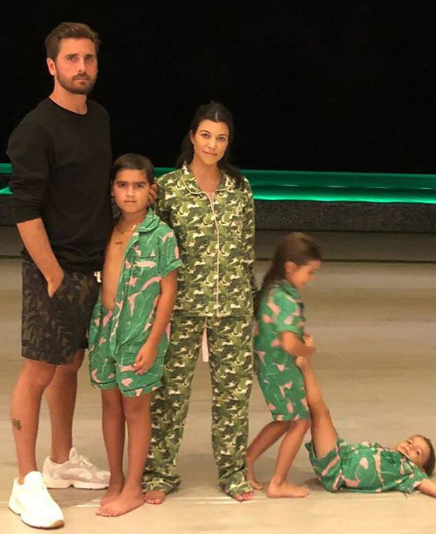 scott disick family