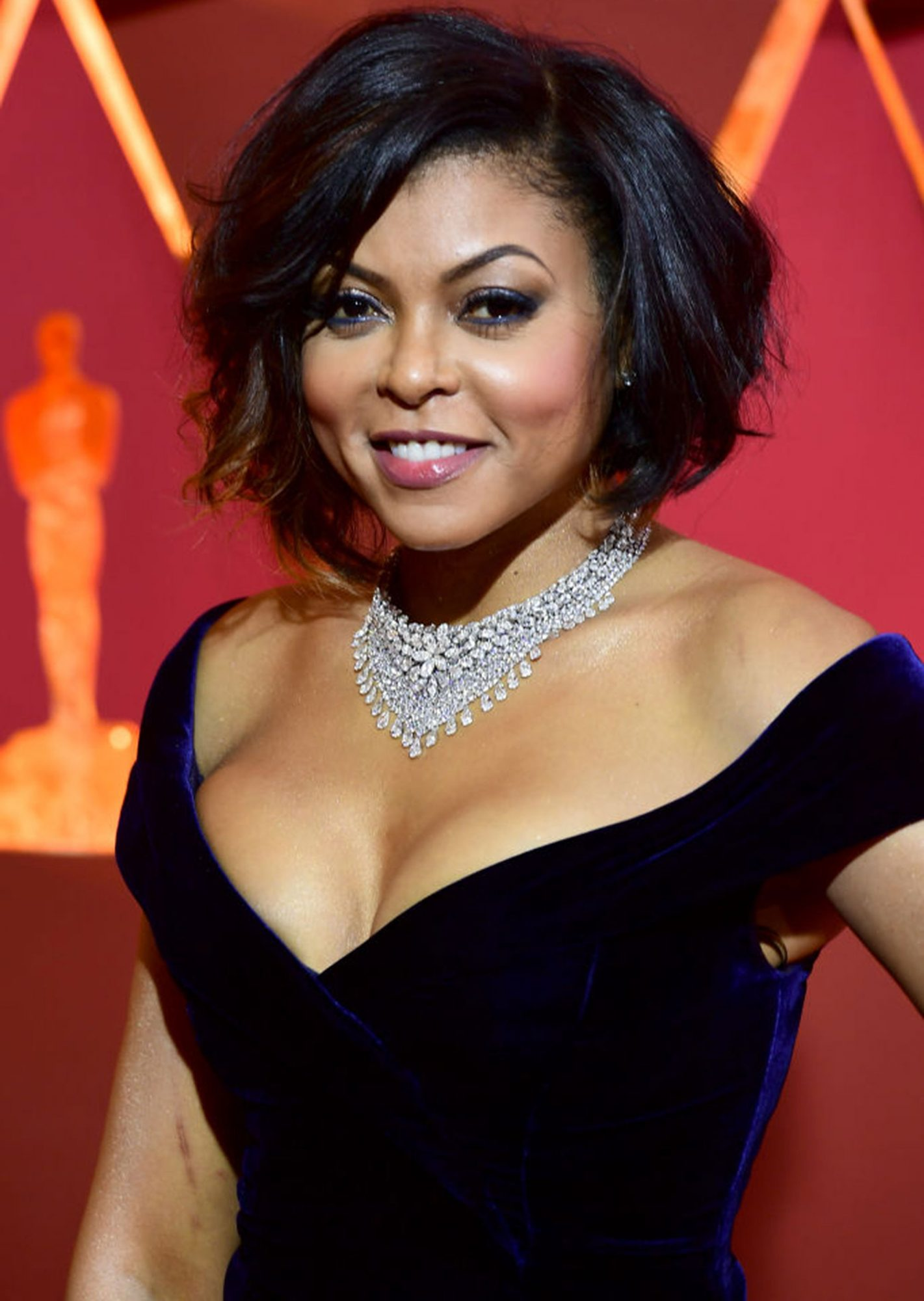 Taraji P. Henson arriving at the 89th Academy Awards held at the Dolby Theatre in Hollywood, Los Angeles, USA. (Photo by Ian West/PA Images via Getty Images)