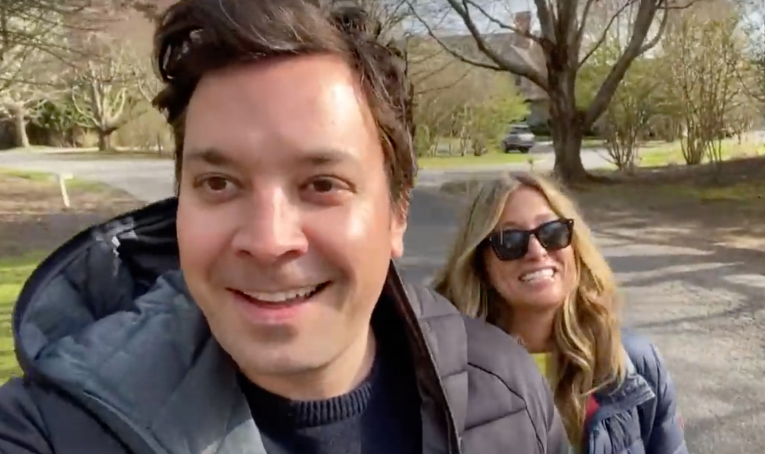 jimmy fallon and wife nancy