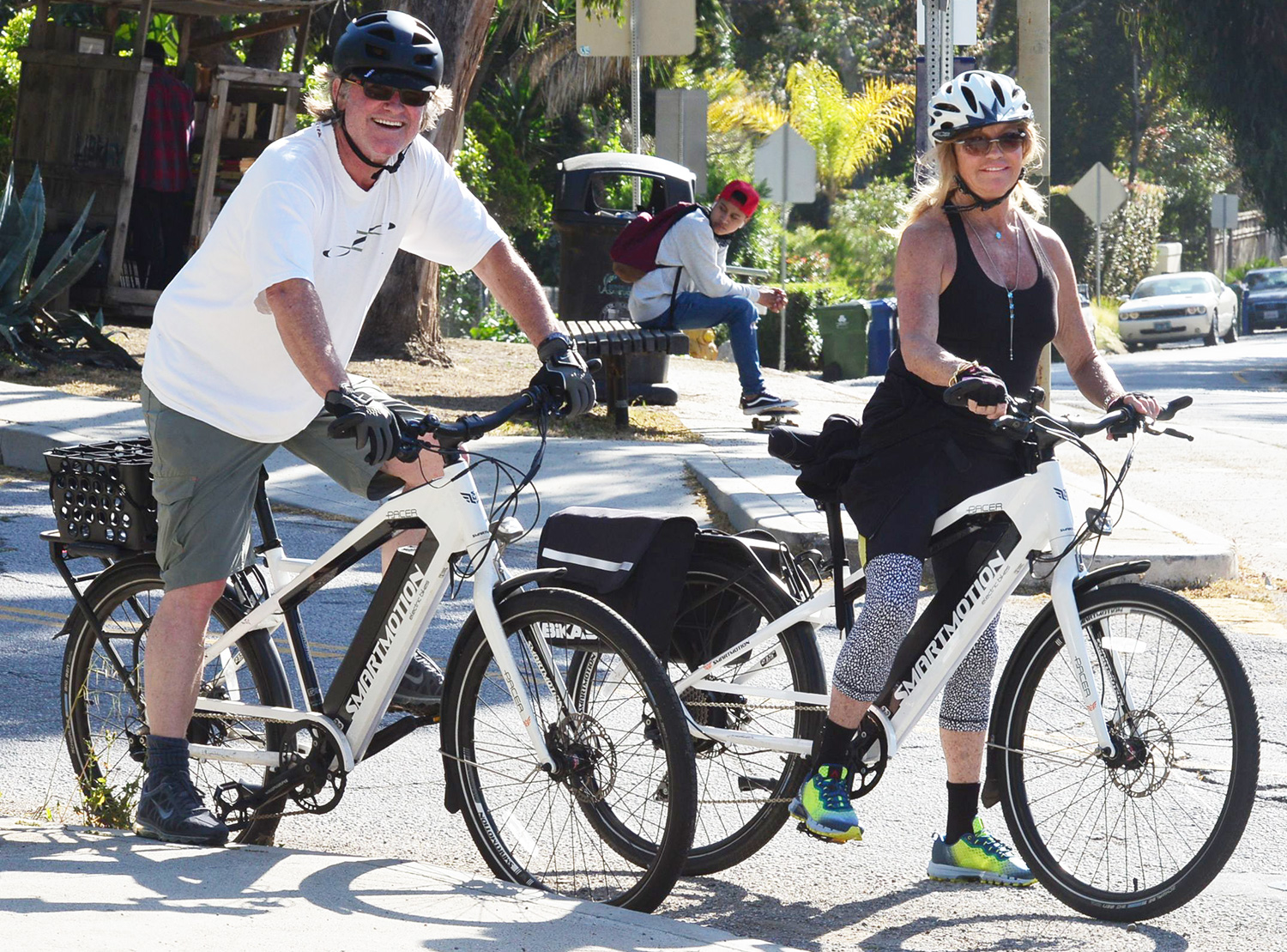 Goldie Hawn and Kurt Russell out and about, Los Angeles, USA