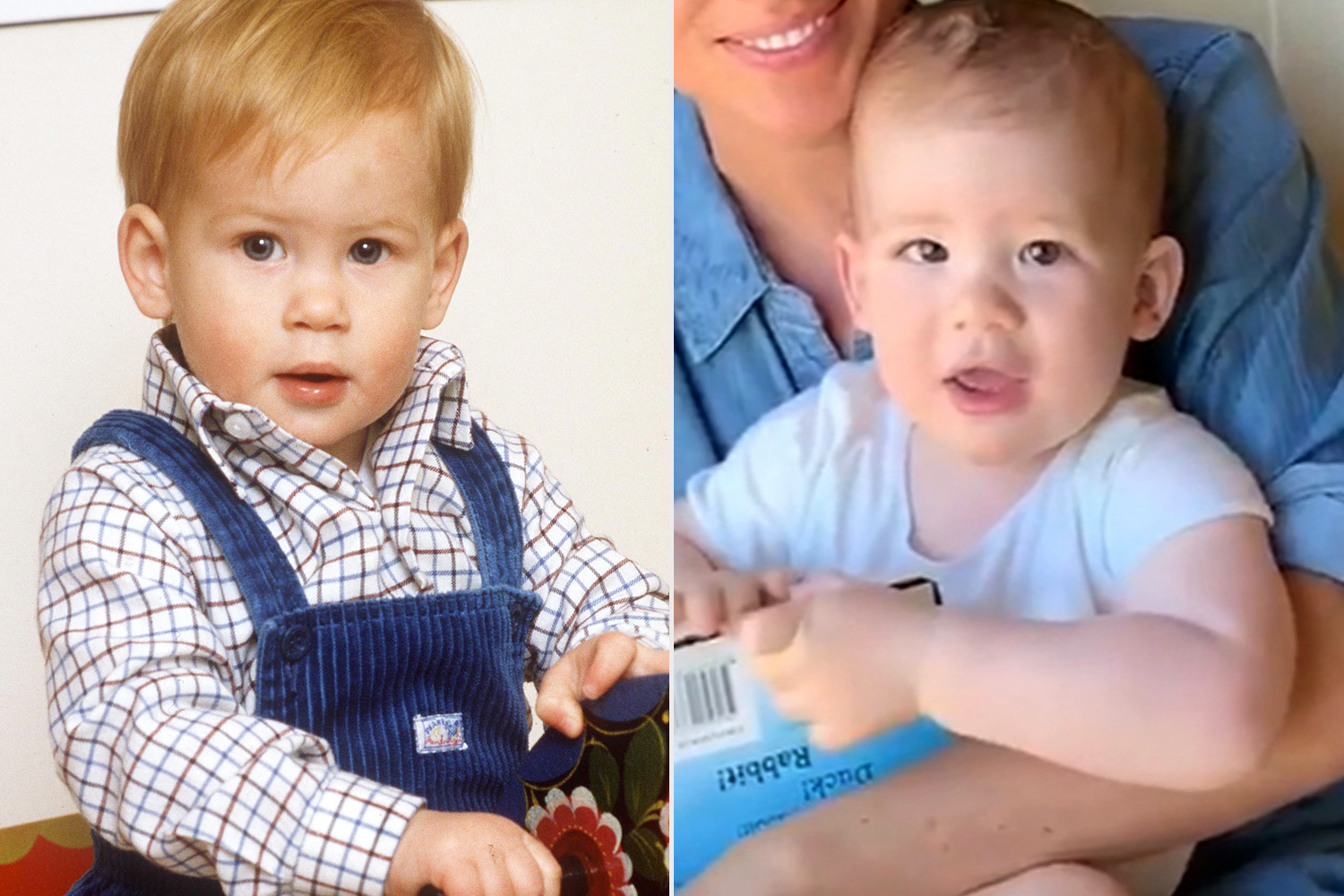 archie and prince harry are lookalikes at age 1 people com archie and prince harry are lookalikes