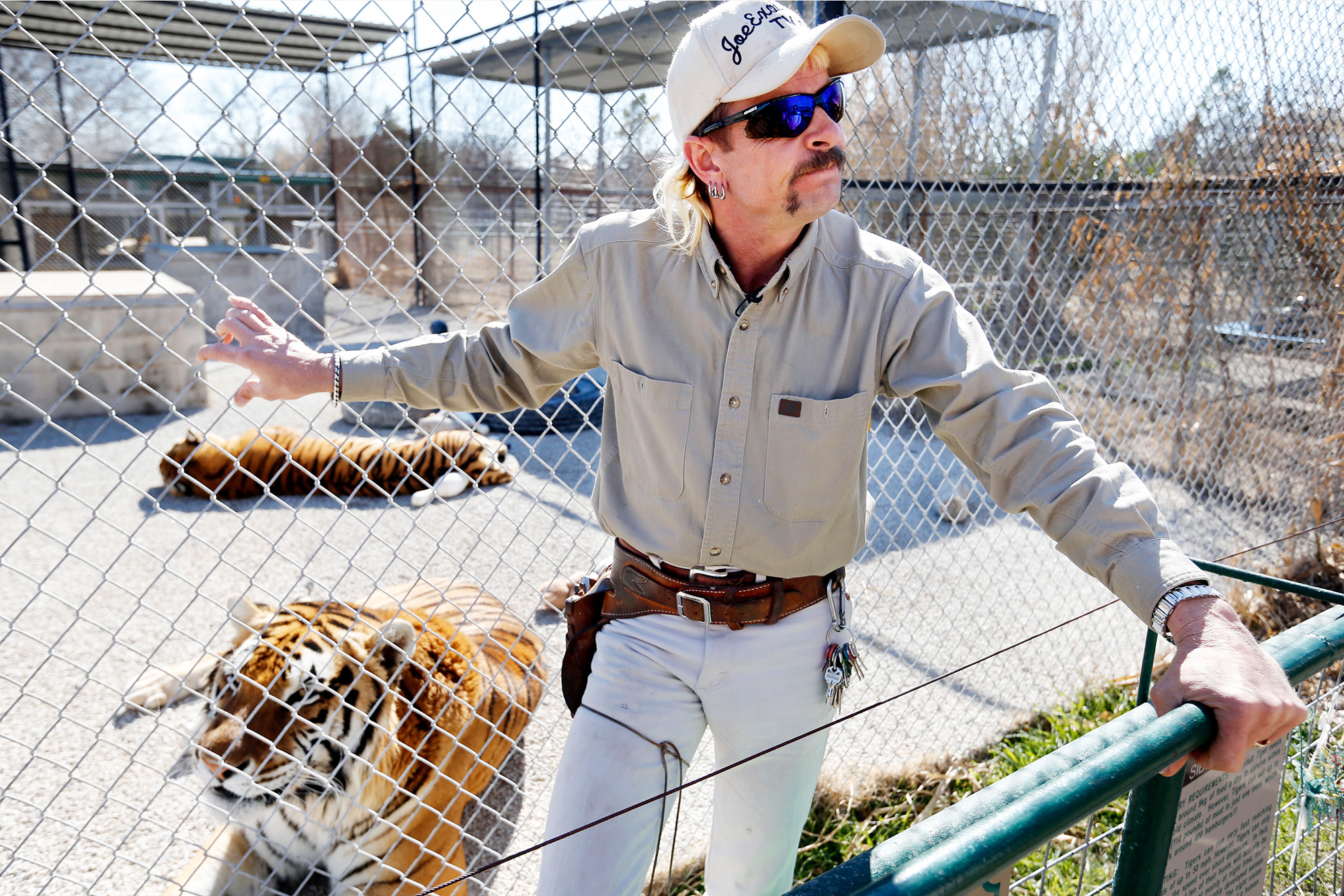 Joe Exotic The Tiger King GW Exotic Animal Park