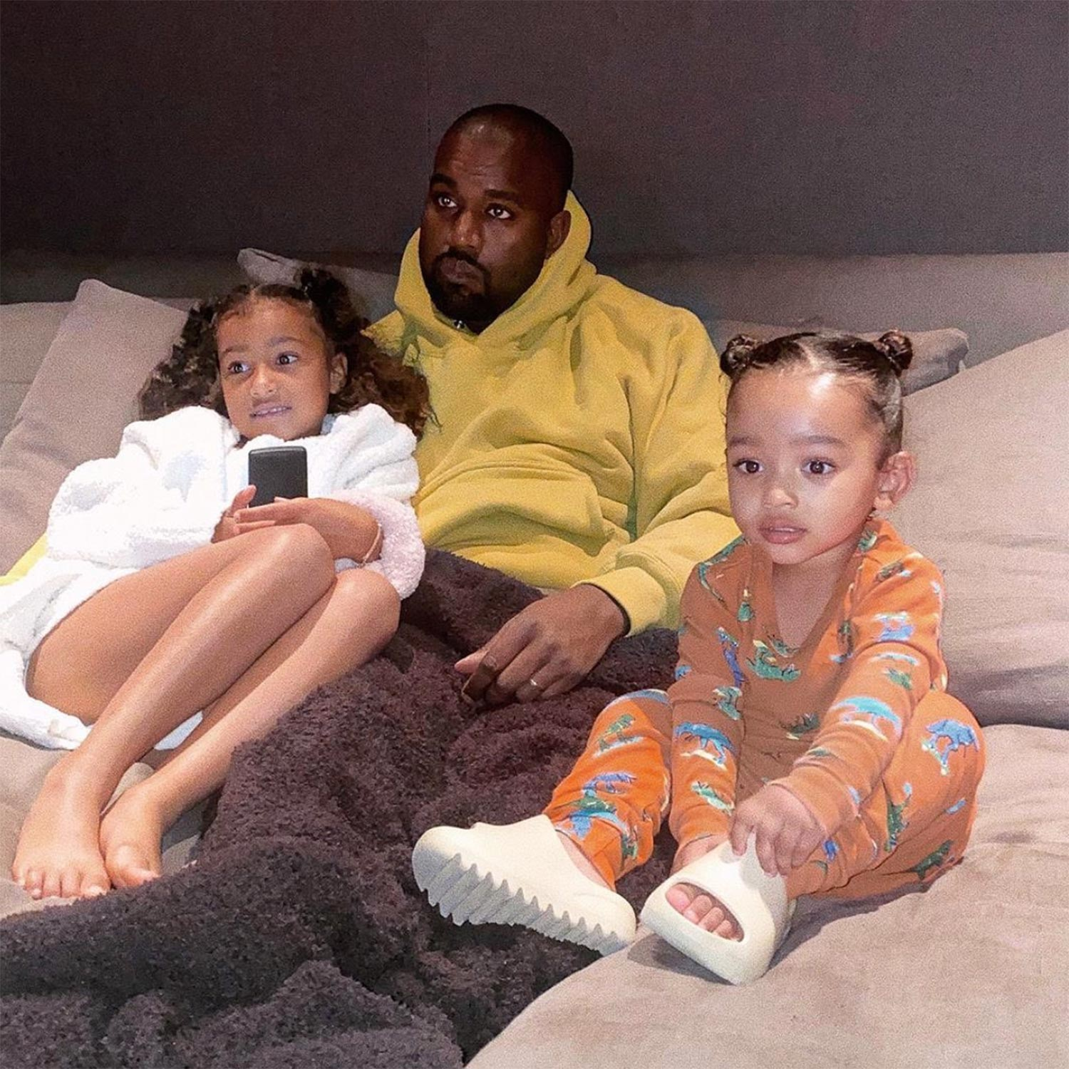 Kanye West daughters