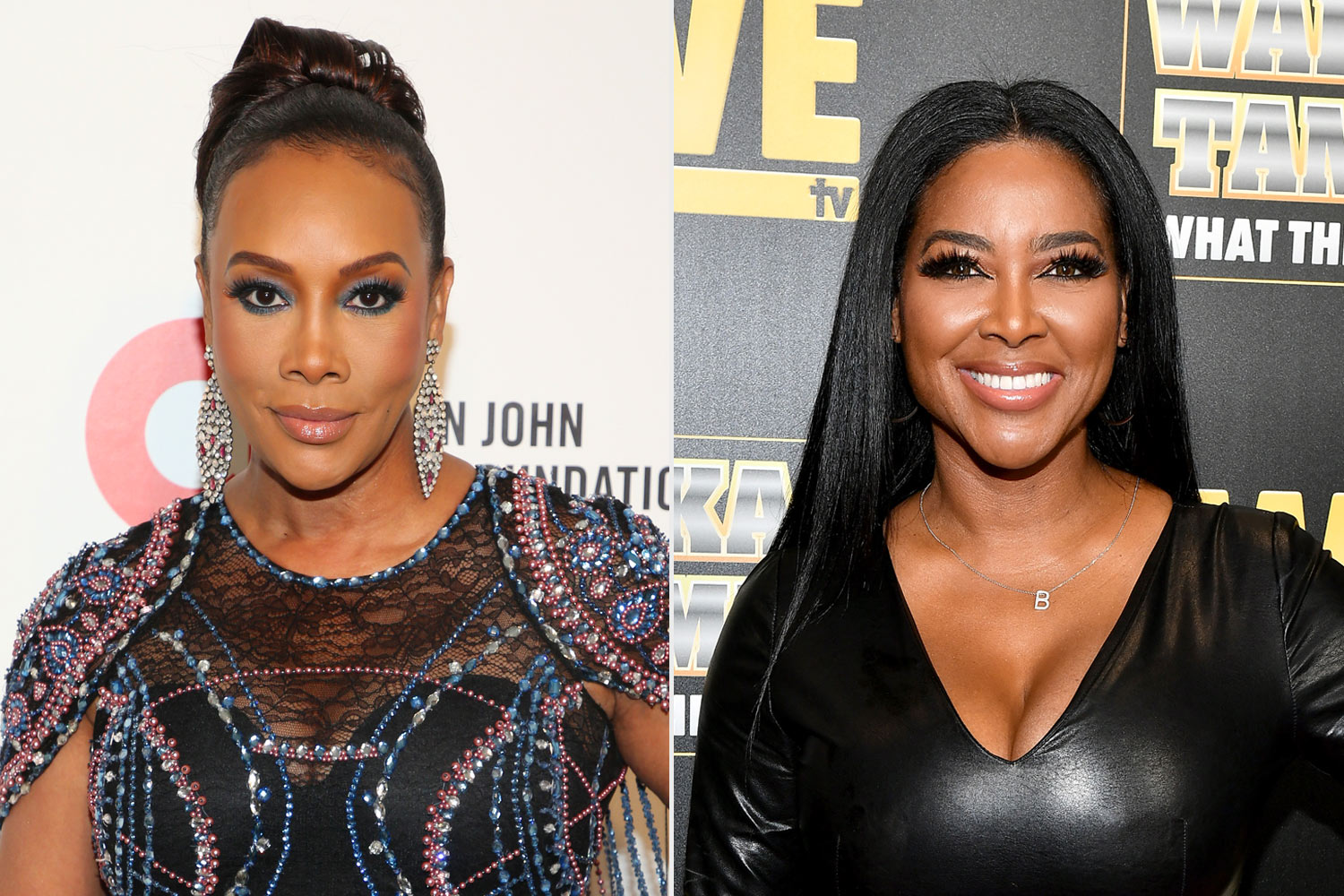 Vivica A Fox and Kenya Moore