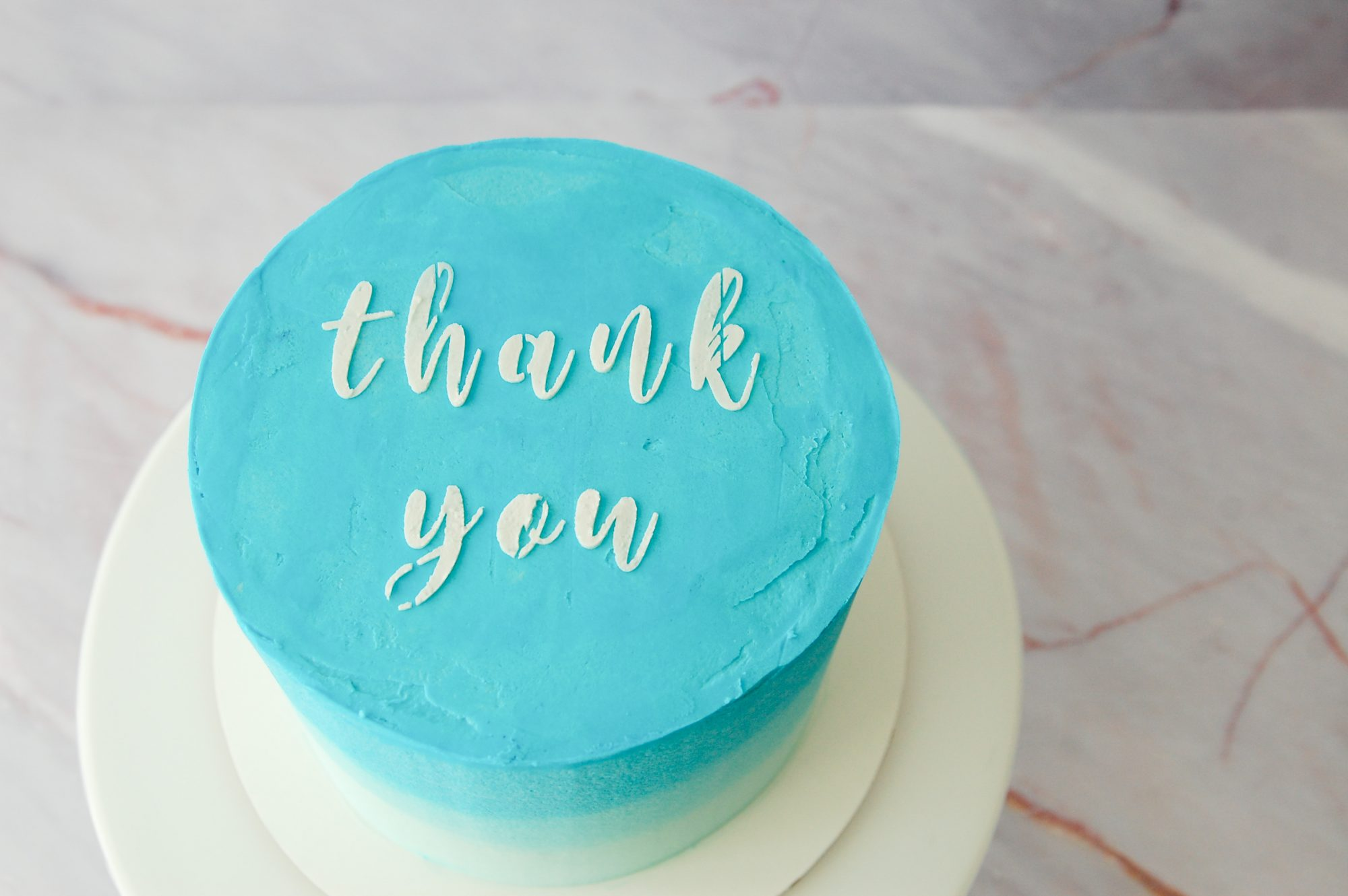 Thank You Cake Calming Cakes